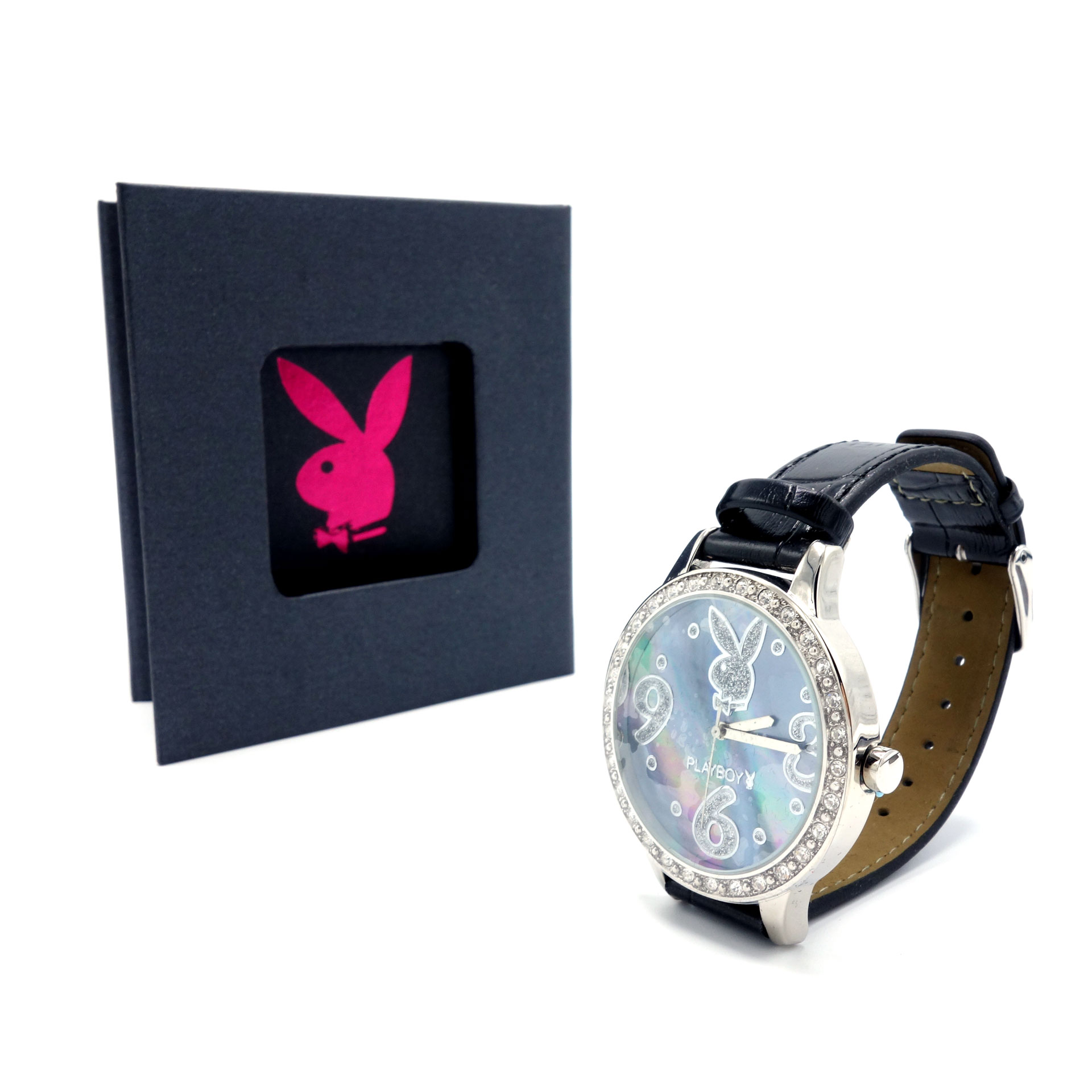 Playboy Damen Armbanduhr PBH0508BLBKB