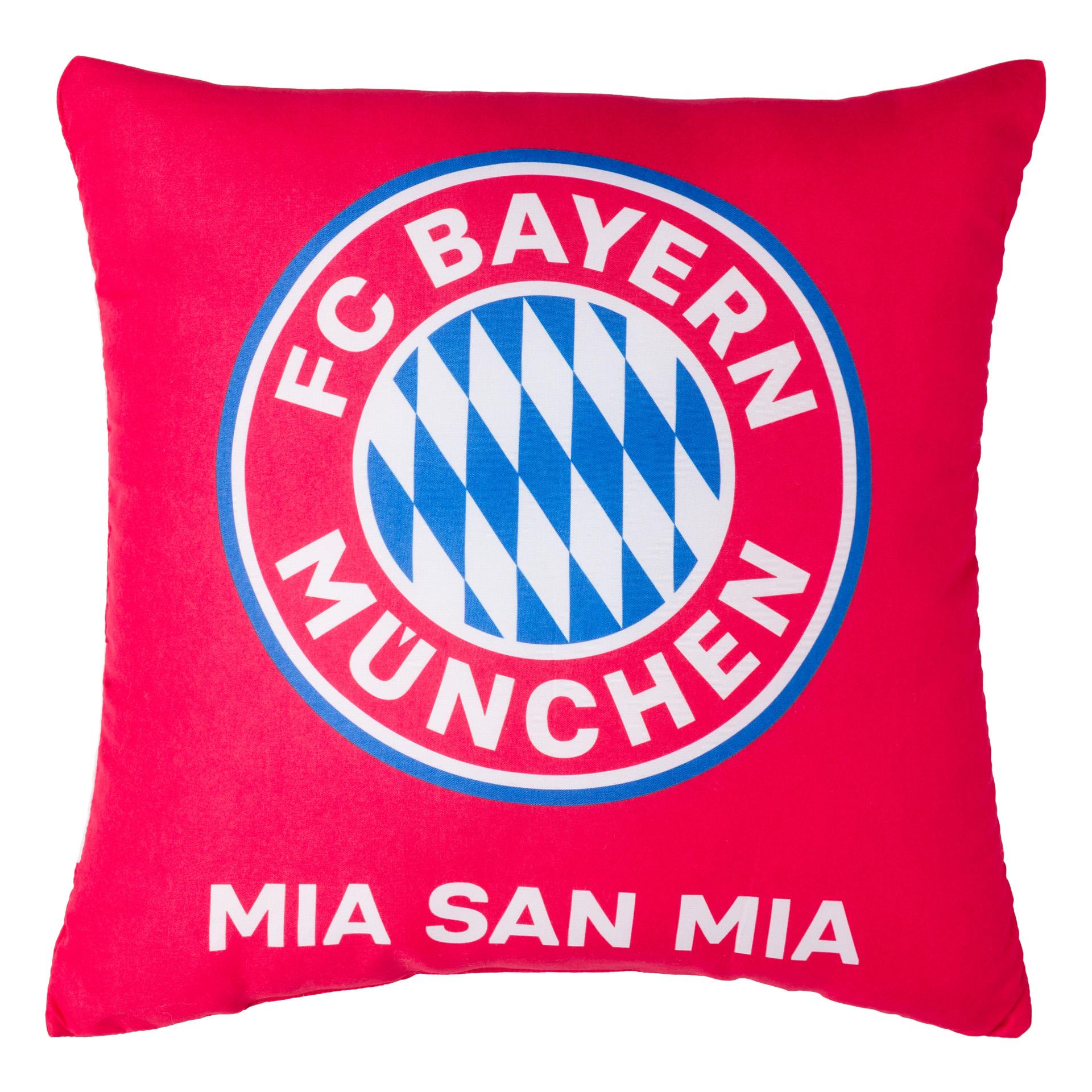 FC Bayern Kissen Rot / Weiß