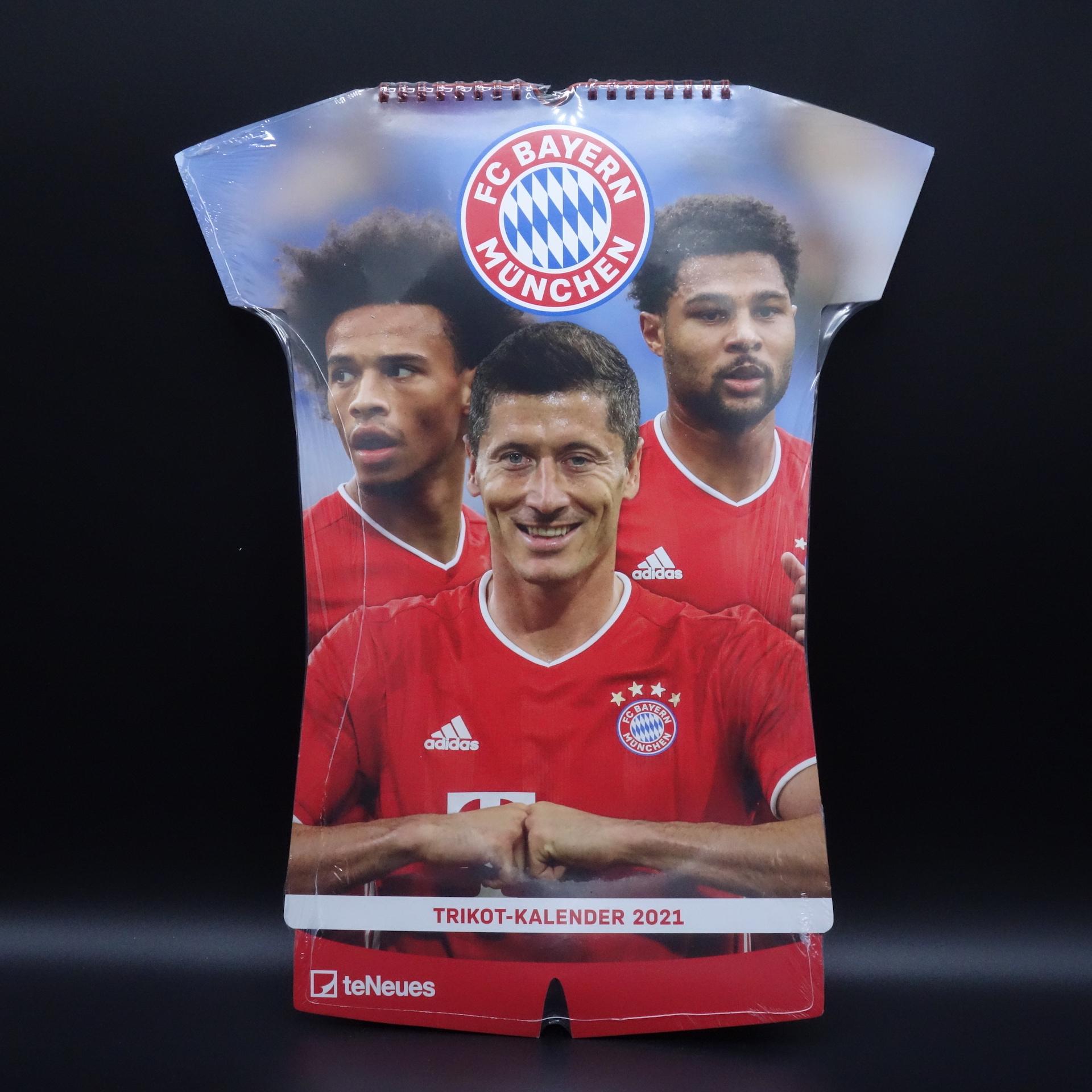 FC Bayern München Trikot-Kalender 2021