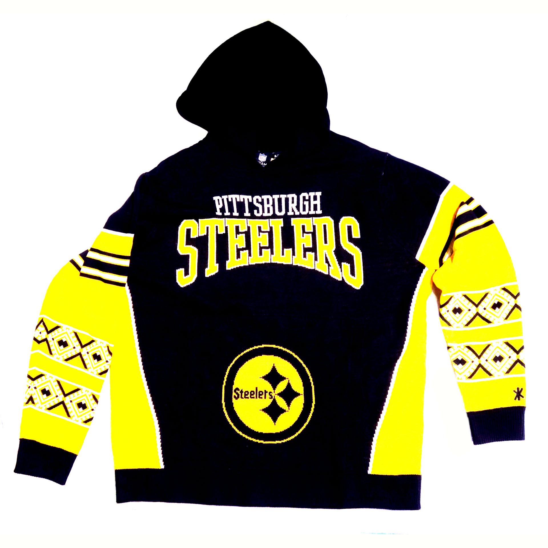 NFL Kapuzenpullover Pittsburgh Steelers Schrift