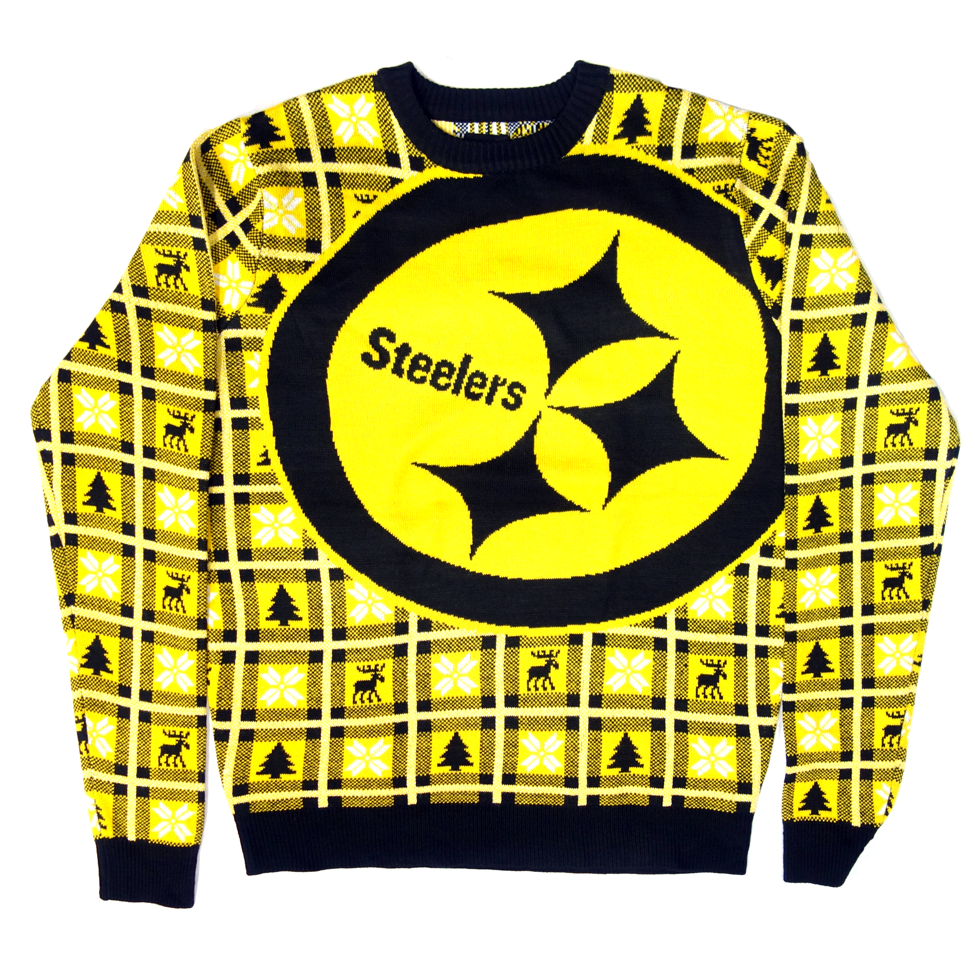 NFL Pullover Christmas Pittsburgh Steelers Ugly Sweater