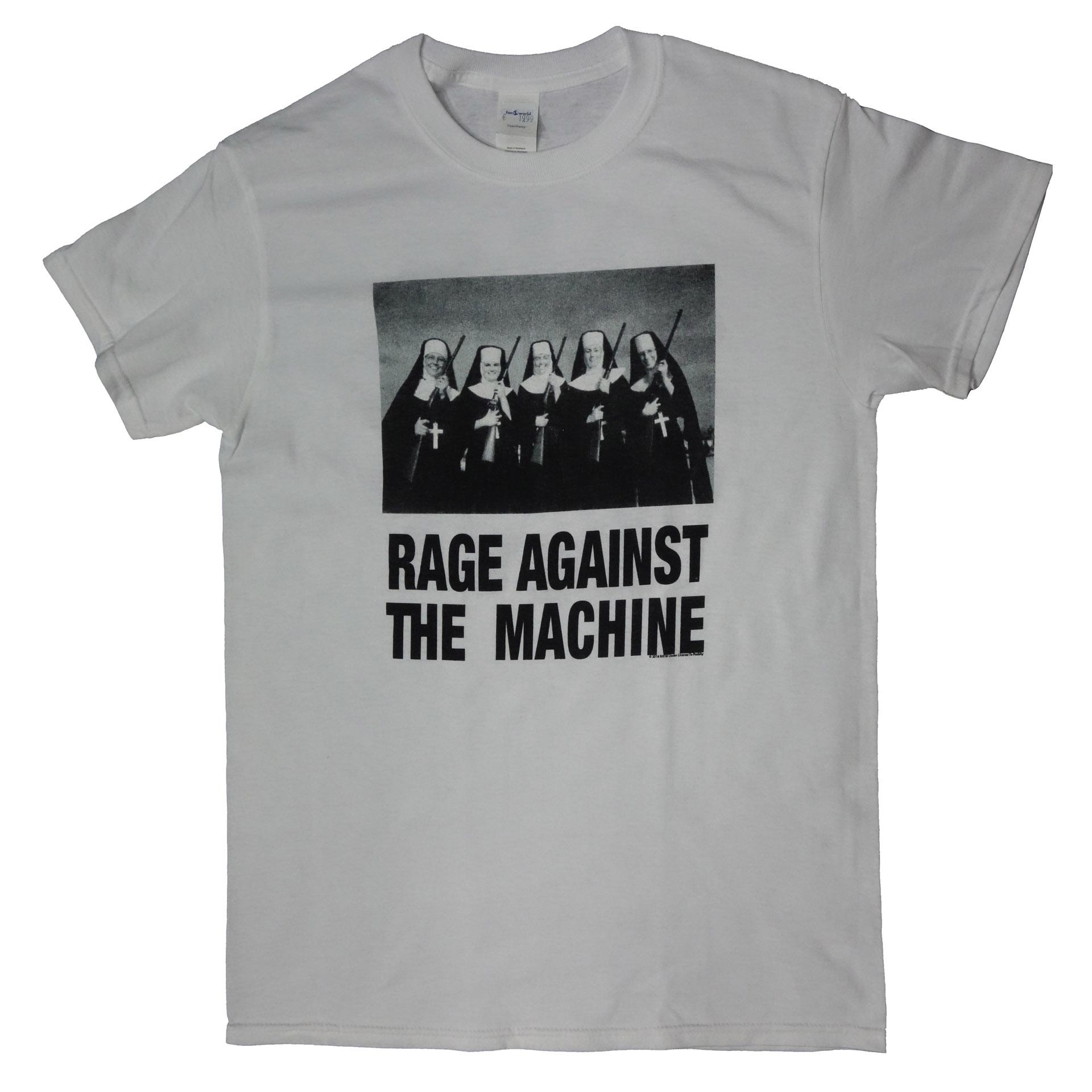 T-Shirt Rage Against The Machine Nuns And Guns