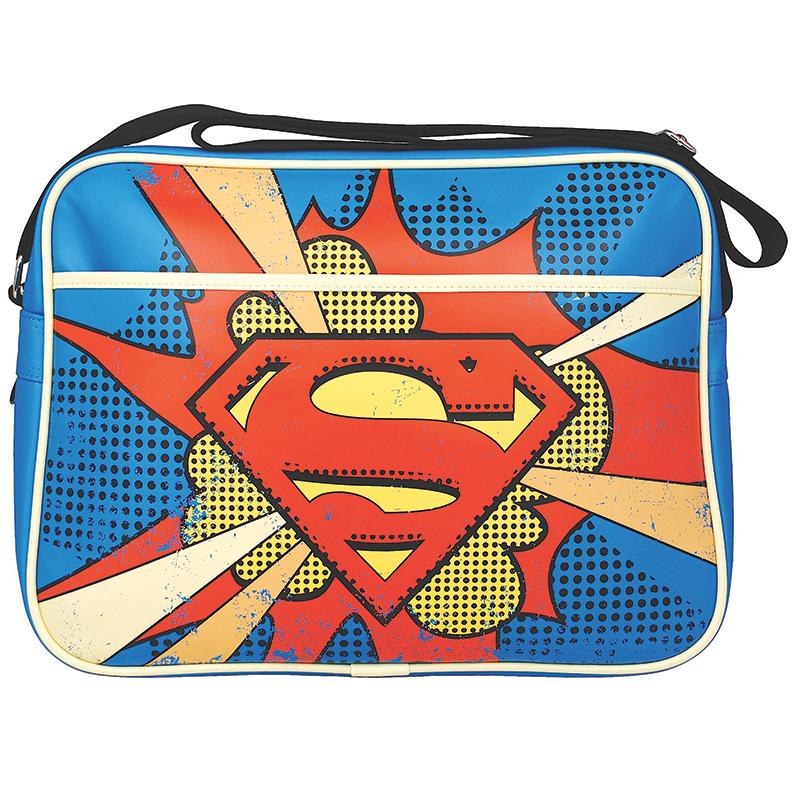 Superman Classic Schultertasche DC Tasche