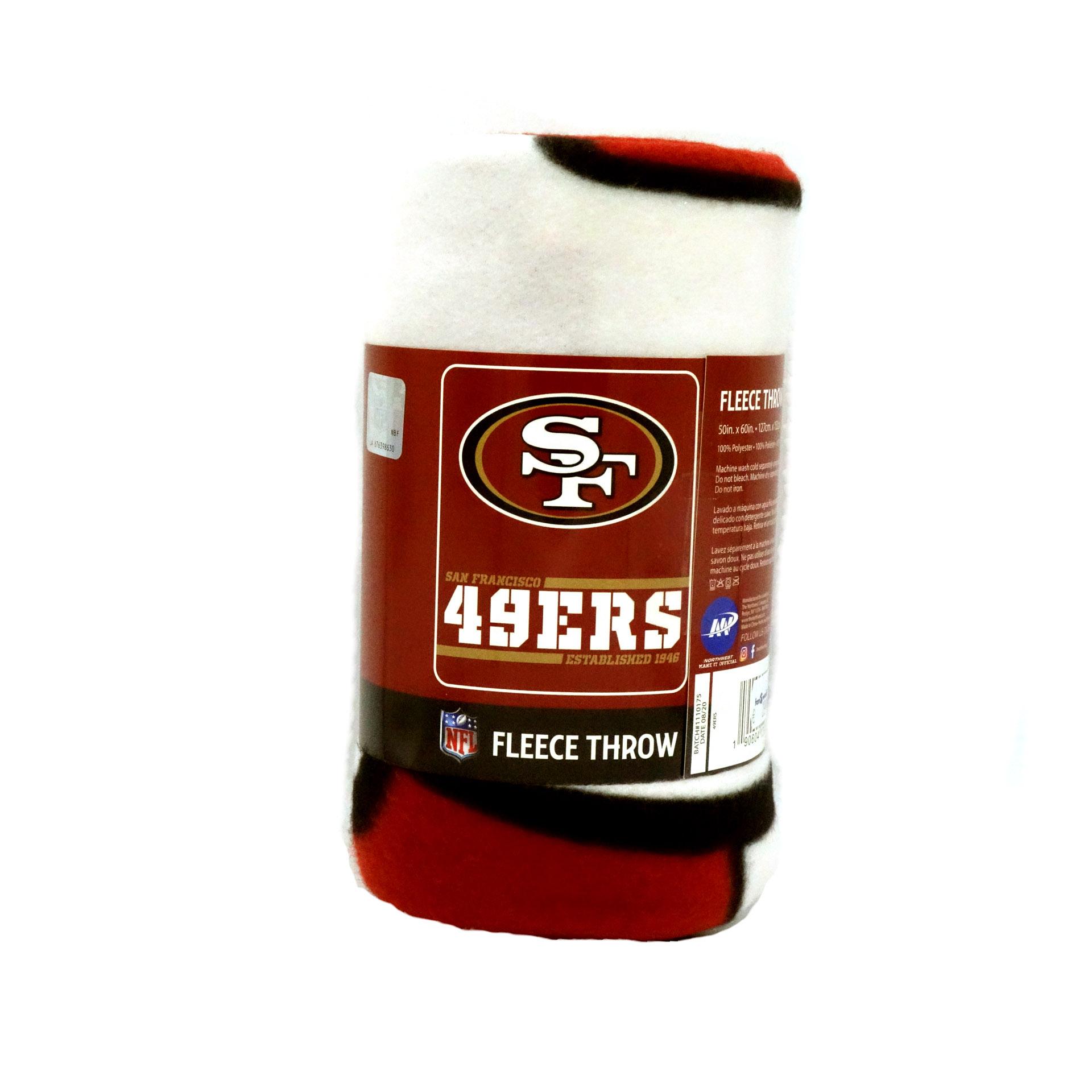 NFL Fleecedecke San Fransisco 49ers