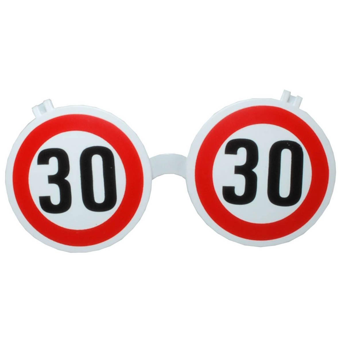 """Geburtstagsgeschenk Sonnenbrille """"30"""" Brille Geschenkidee"""
