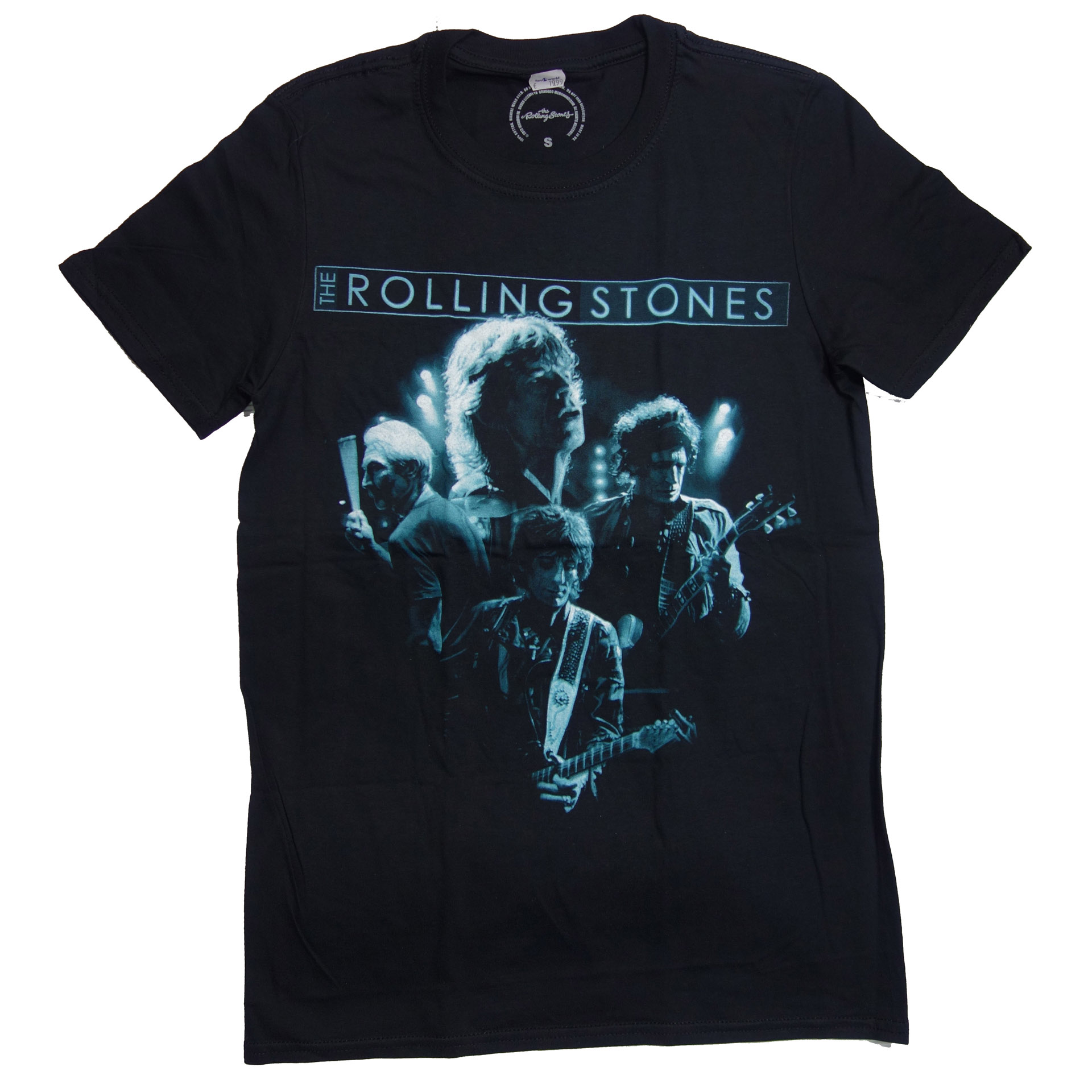 T-Shirt The Rolling Stones Band Glow