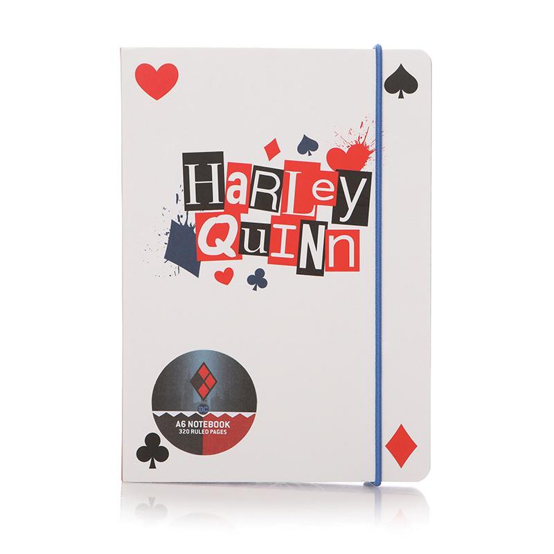 Harley Quinn A6 Notizbuch