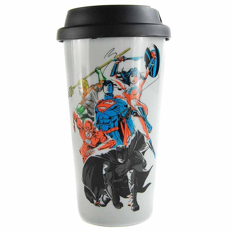 Justice League Coffee To Go Becher Travel Mug