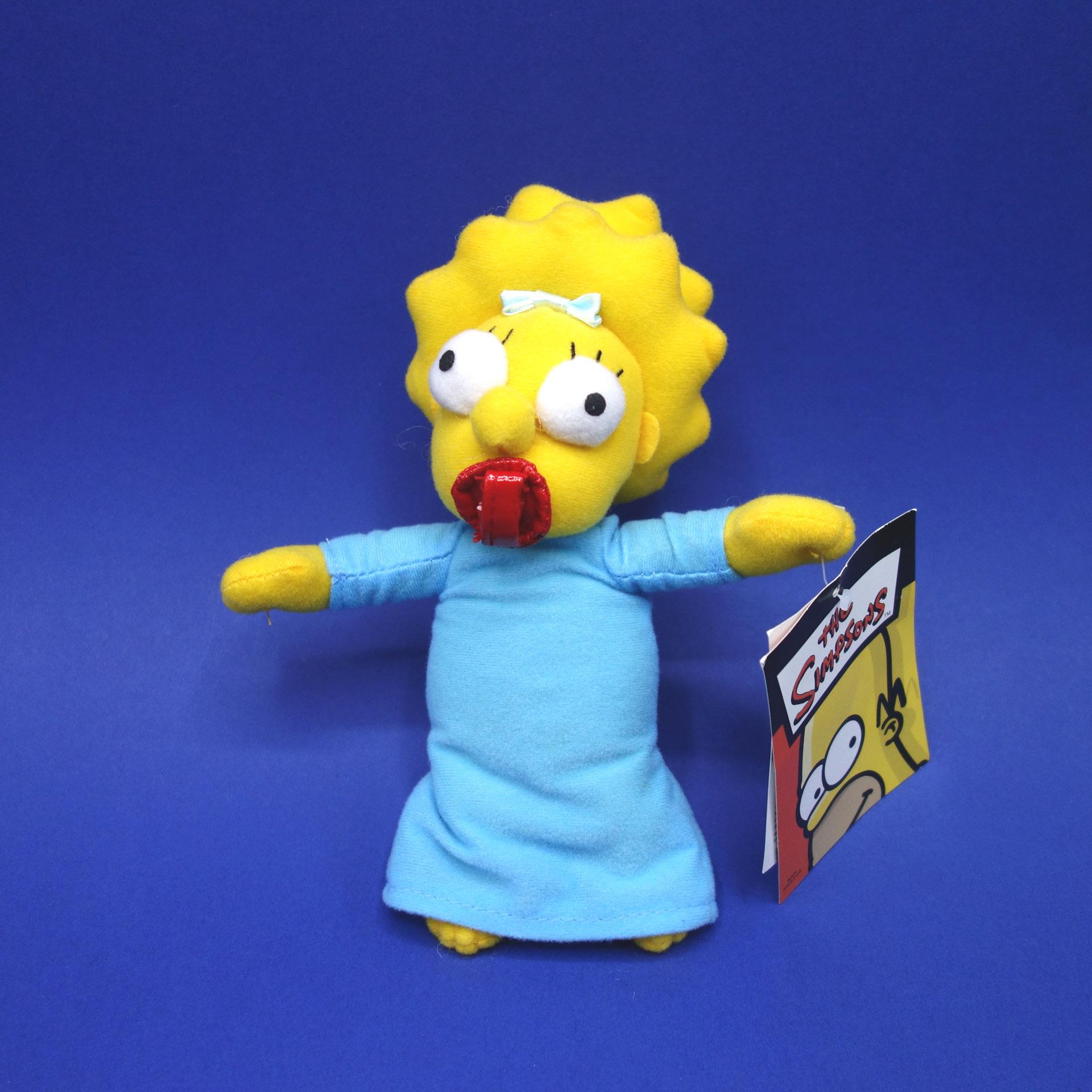Maggie Simpson Plüsch Figur The Simpsons