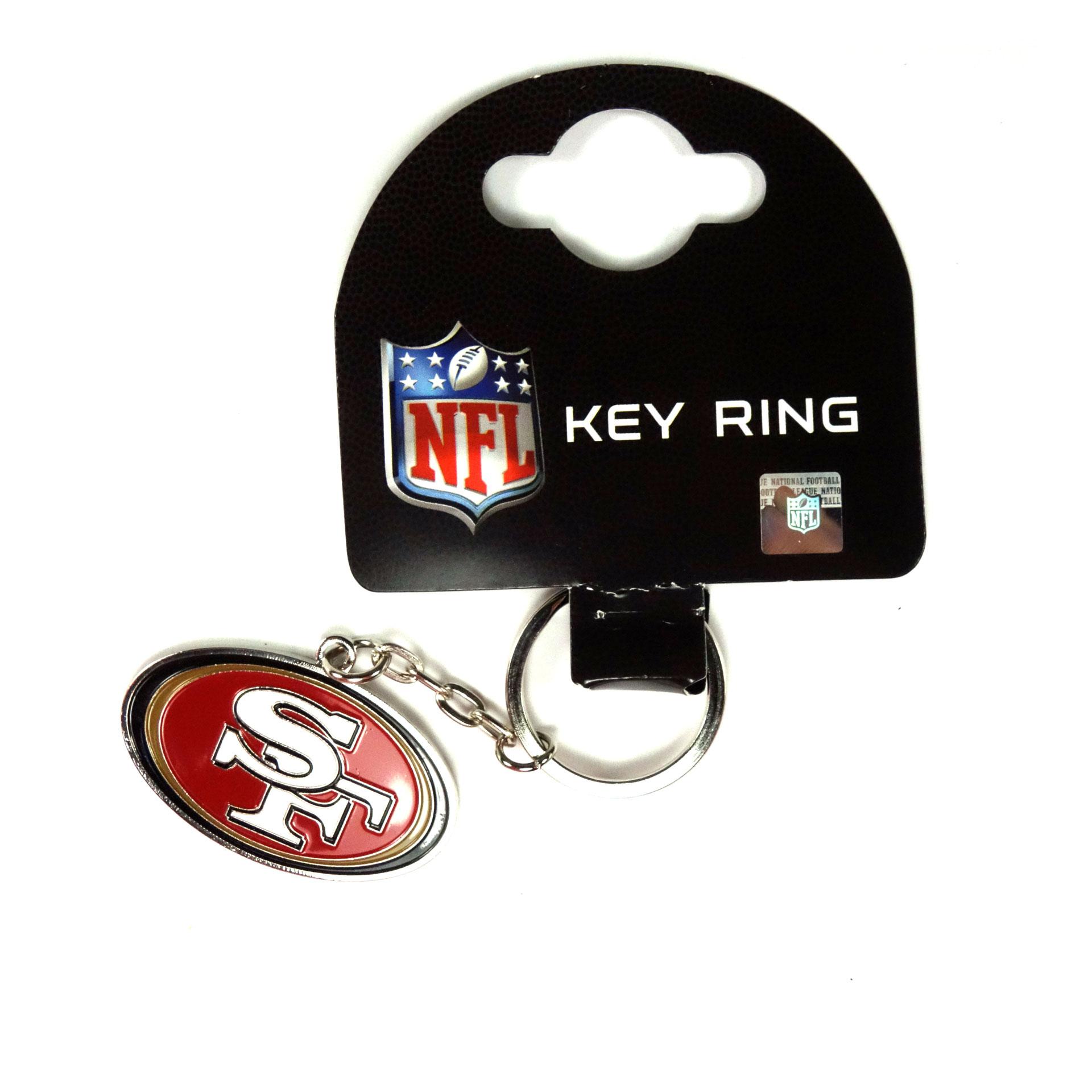 NFL Schlüsselanhänger San Francisco 49ers