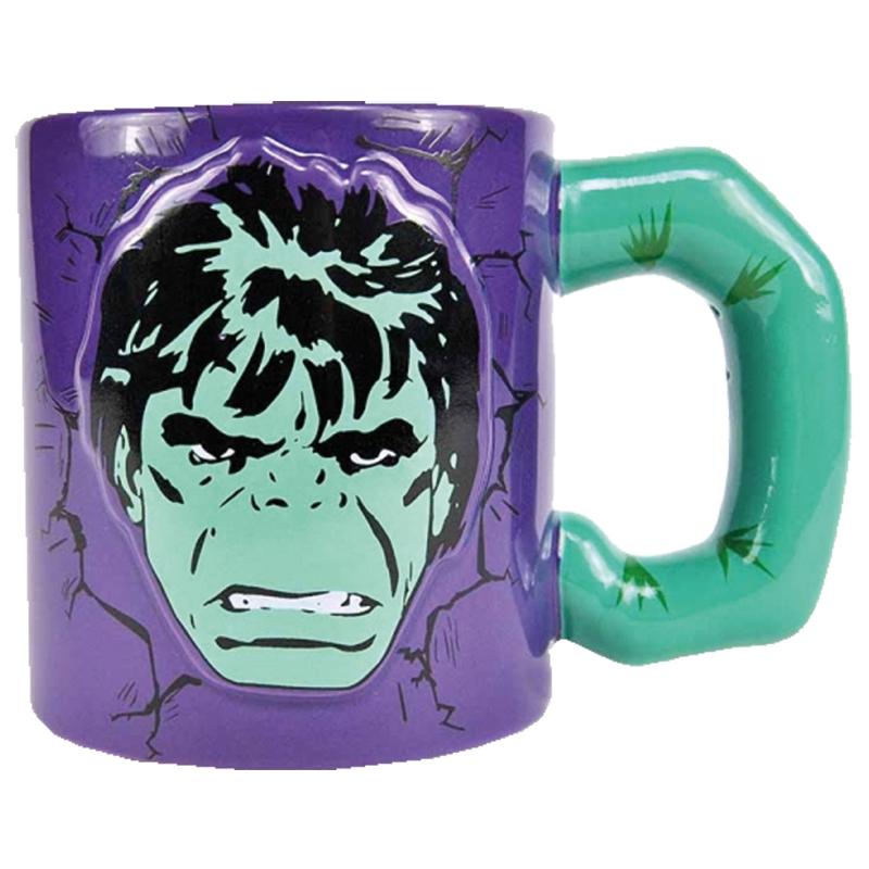 Hulk 3D Tasse Embossed Mug