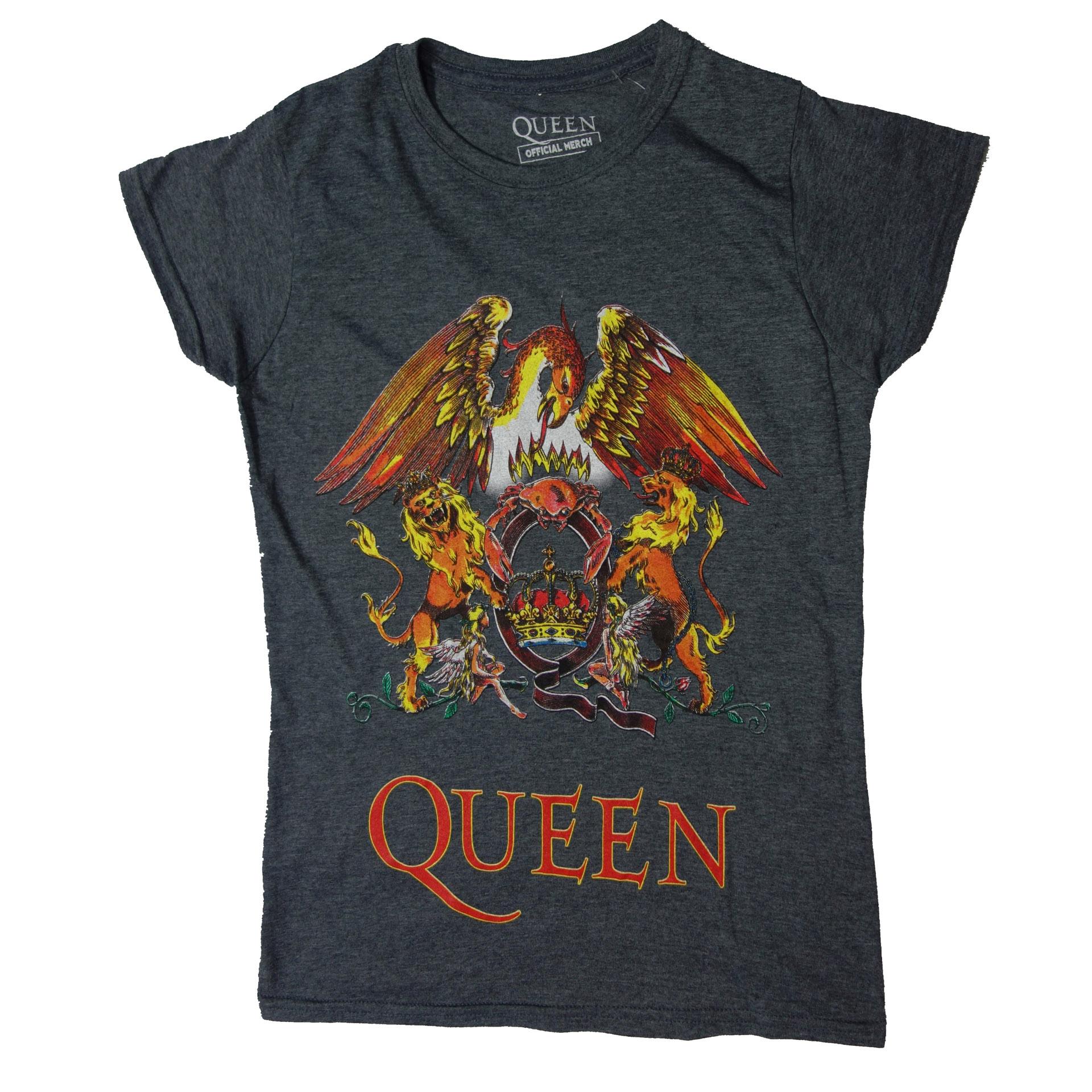 Damen Lady T-Shirt Queen Logo