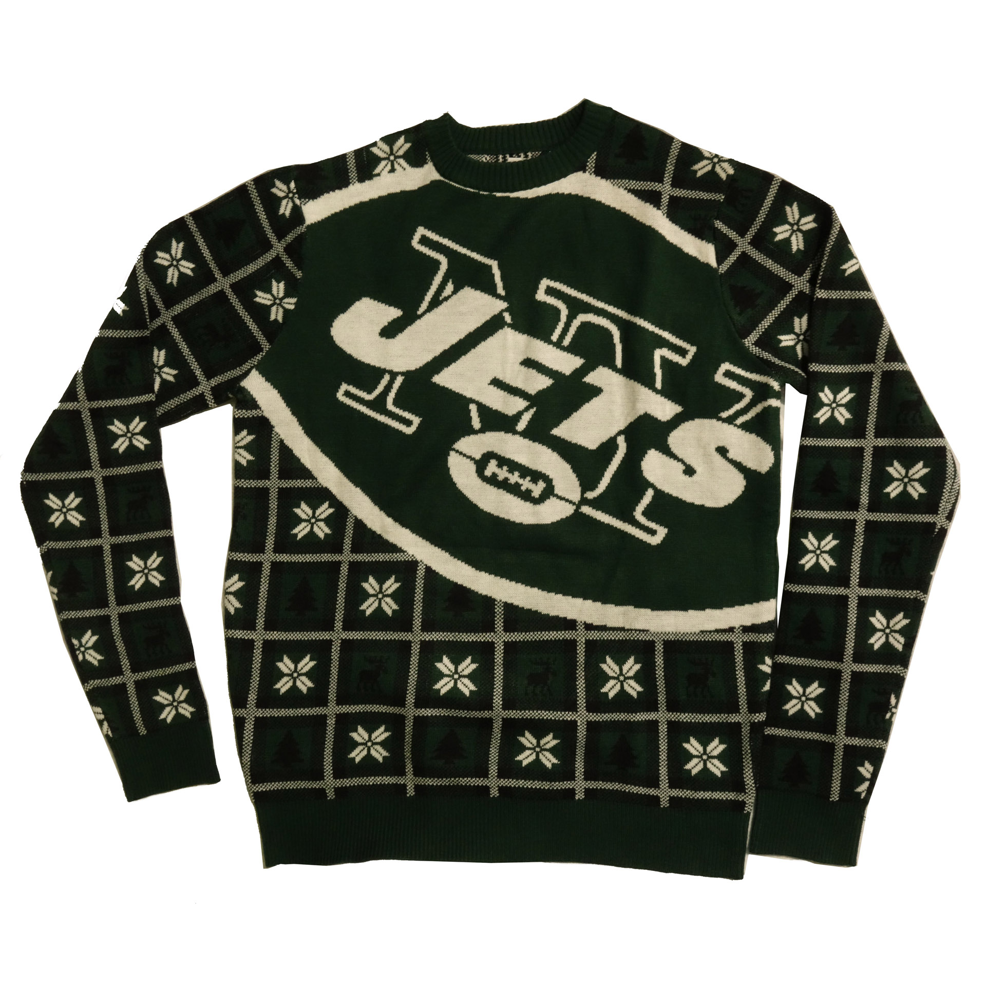 NFL Pullover Christmas New York Jets Ugly Sweater