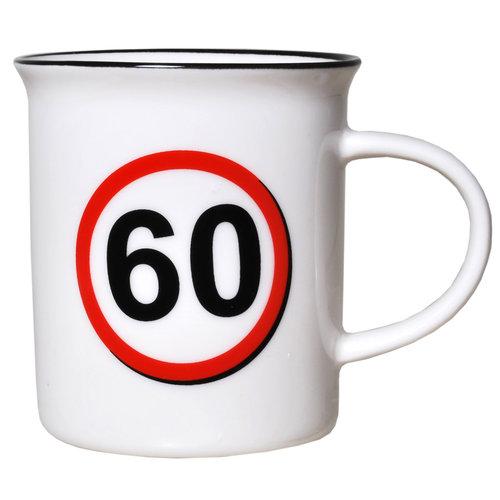"""Geburtstagsgeschenk Tasse """"60"""" Becher"""
