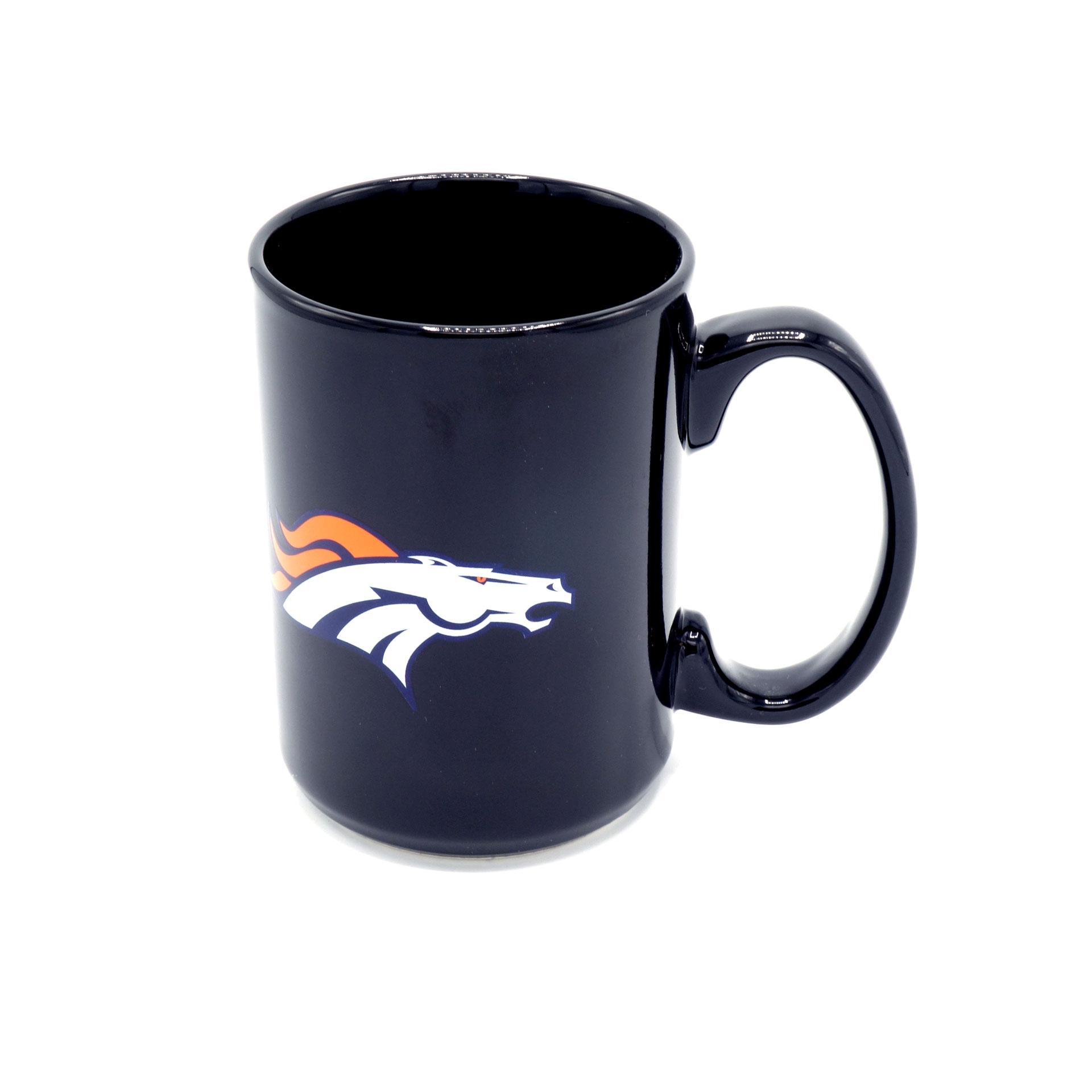 NFL Denver Broncos Tasse Schwarz
