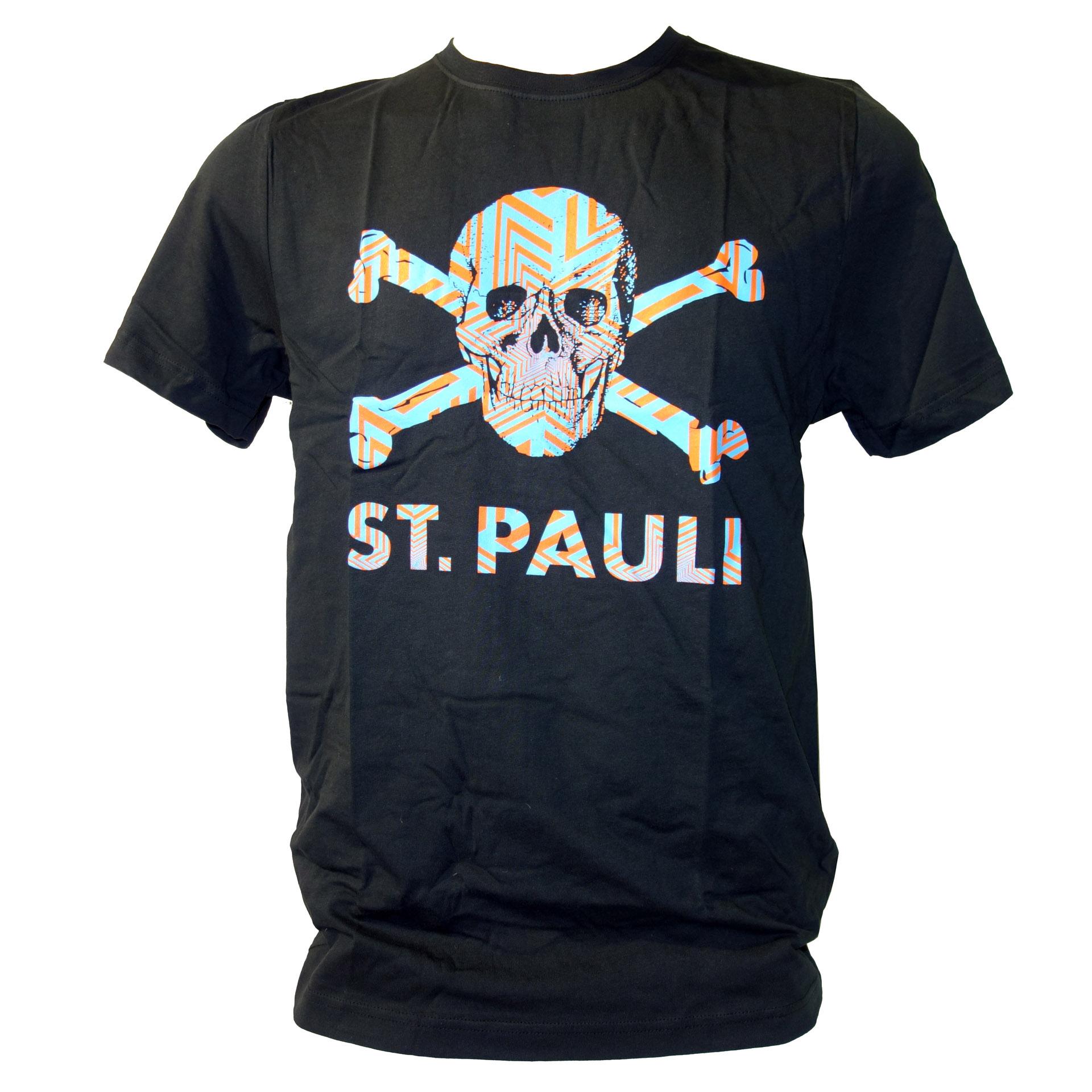 FC St. Pauli T-Shirt Totenkopf