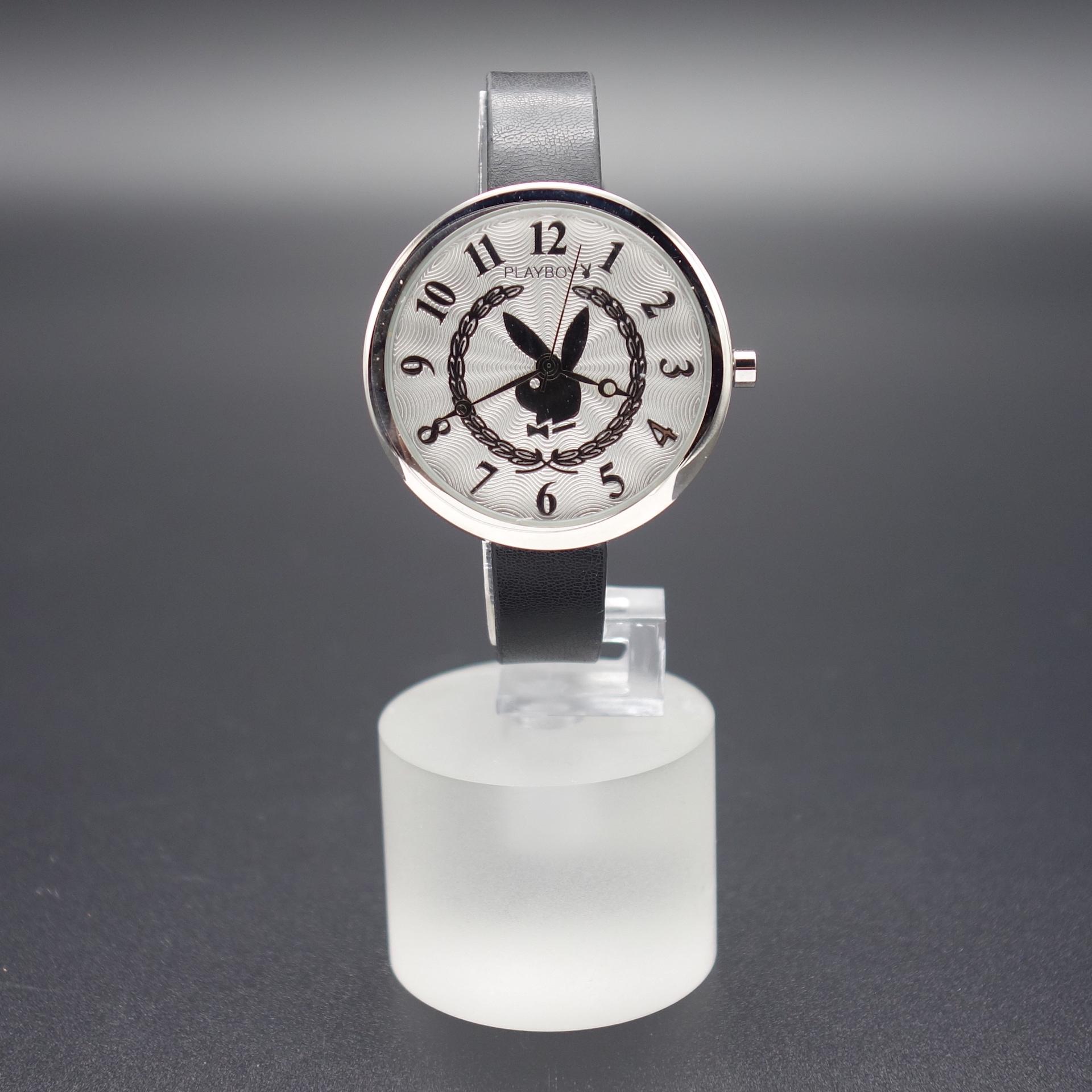 Playboy Damen Armbanduhr PBH0496SLBK Schwarz