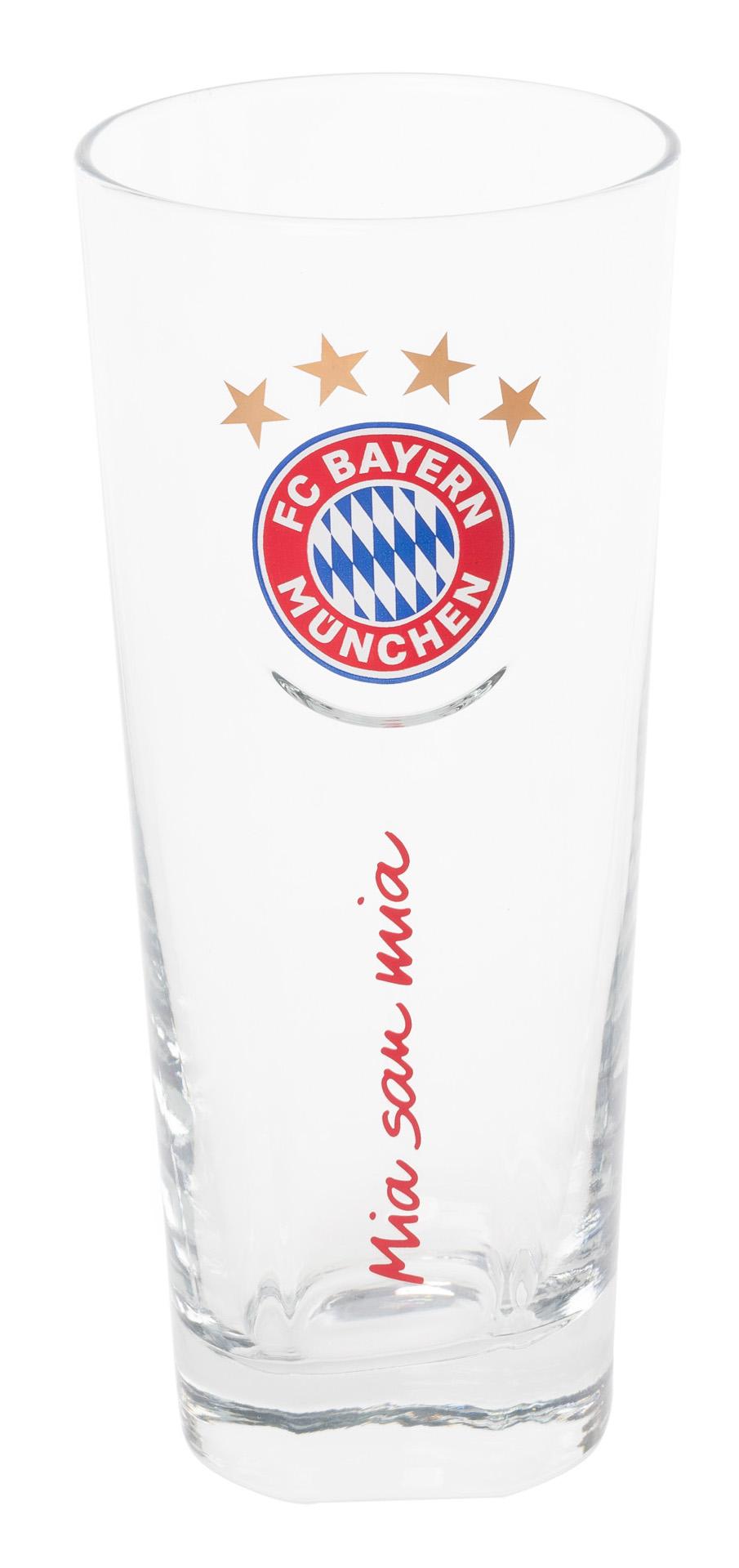 FC Bayern Fan Glas