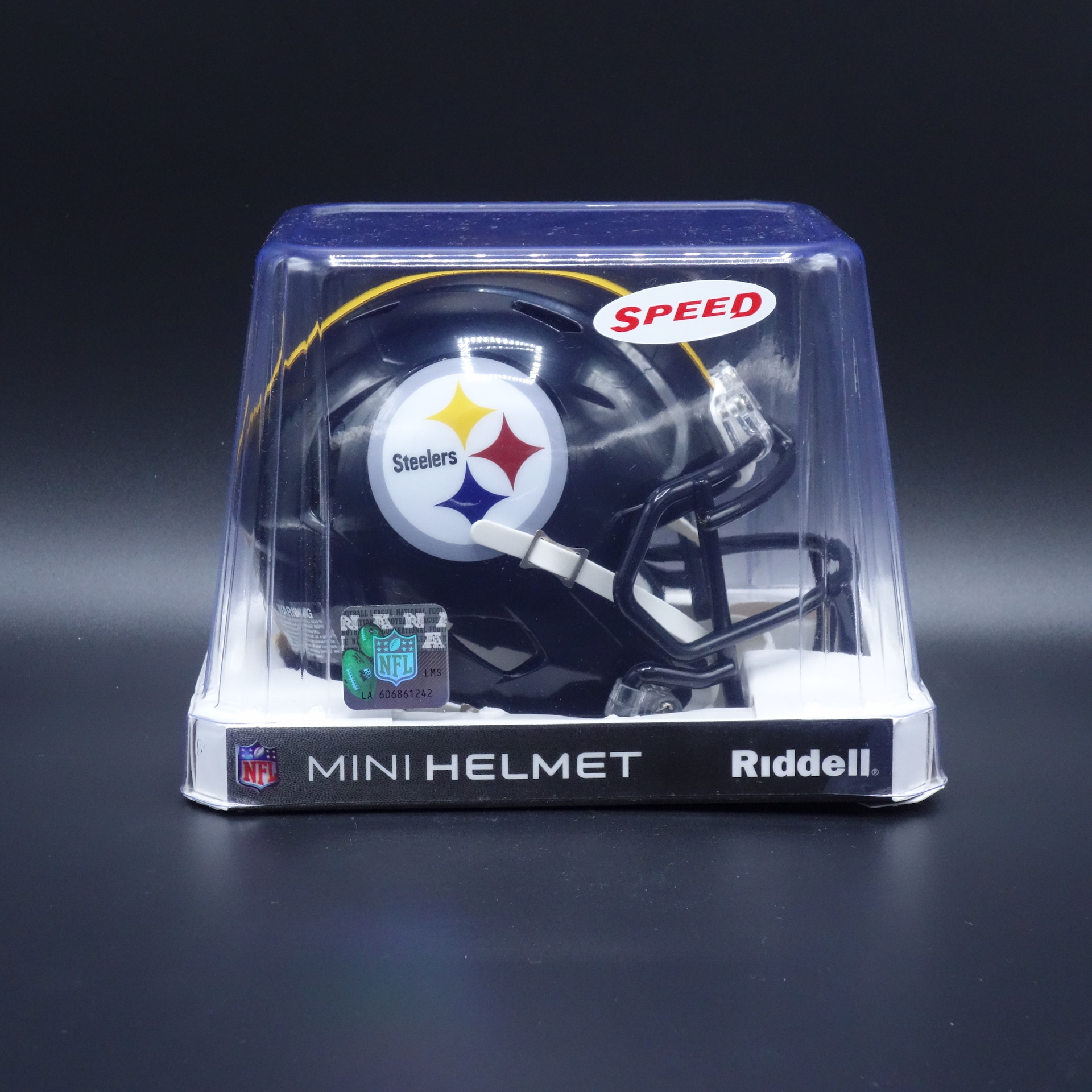 NFL Pittsburgh Steelers Riddell Helm Speed