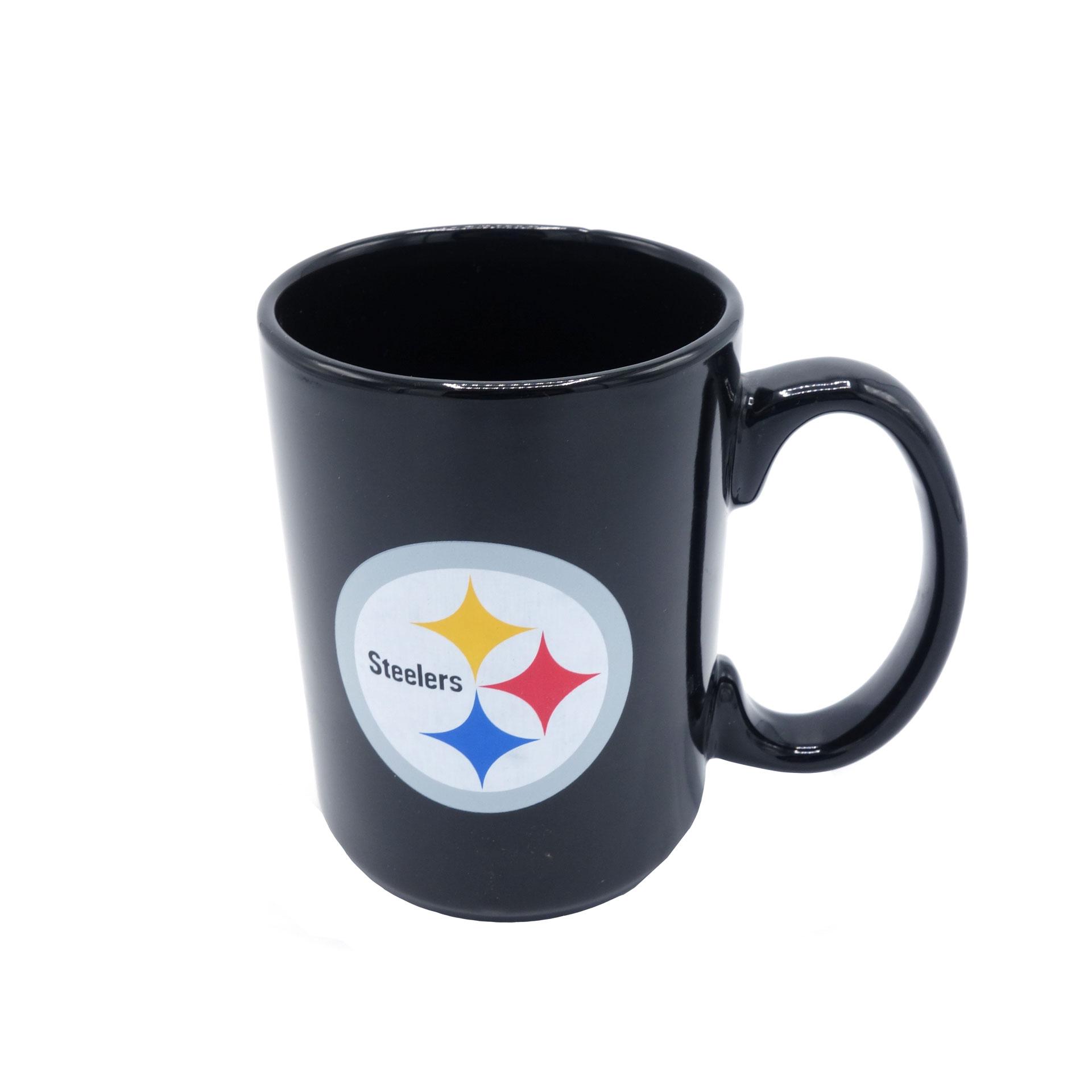 NFL Pittsburgh Steelers Tasse schwarz