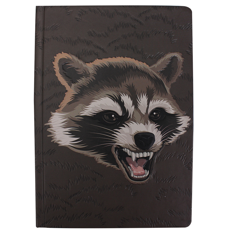 Guardians of the Galaxy Rocket Raccoon A5 Notizbuch A5 Notebook