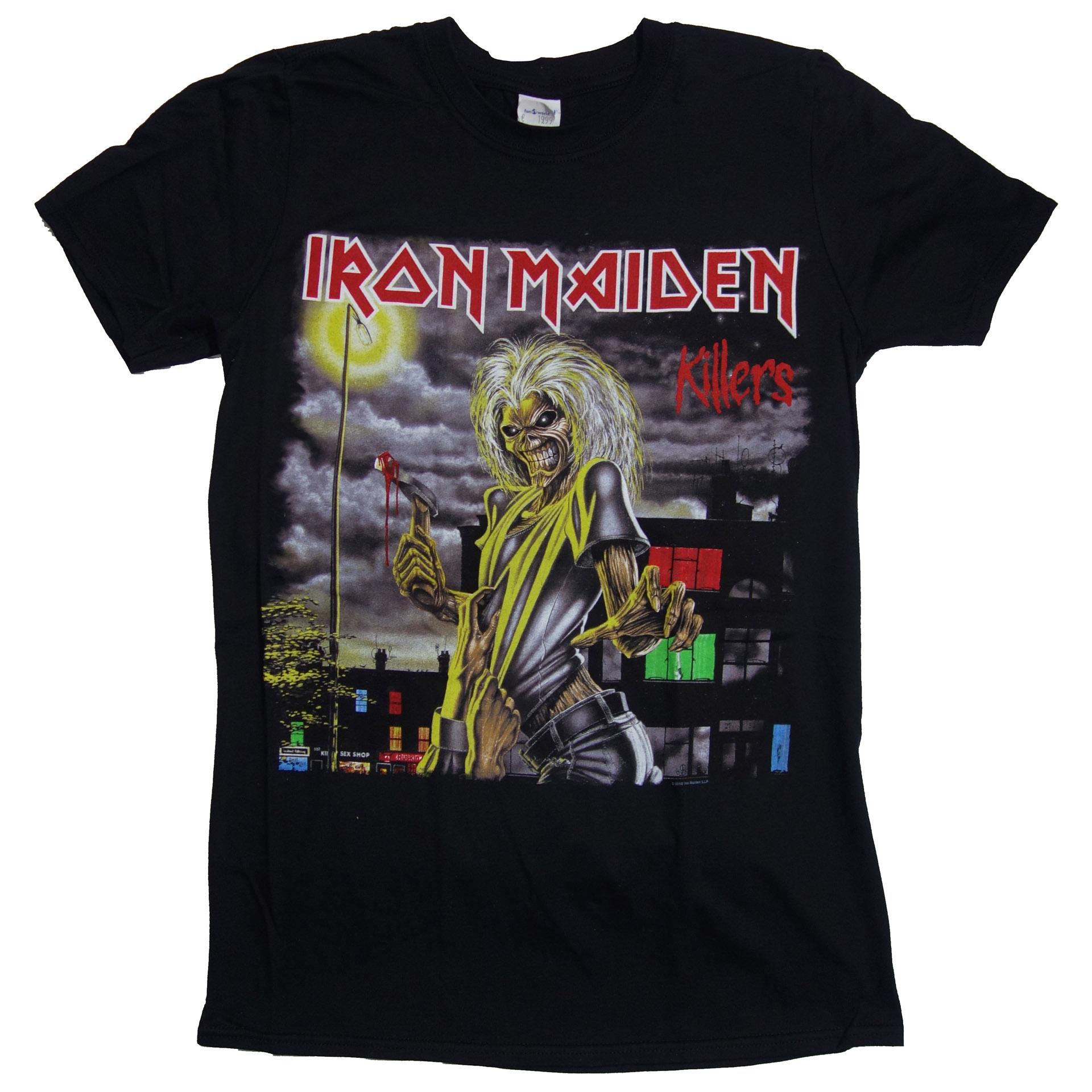 T-Shirt Iron Maiden Killers
