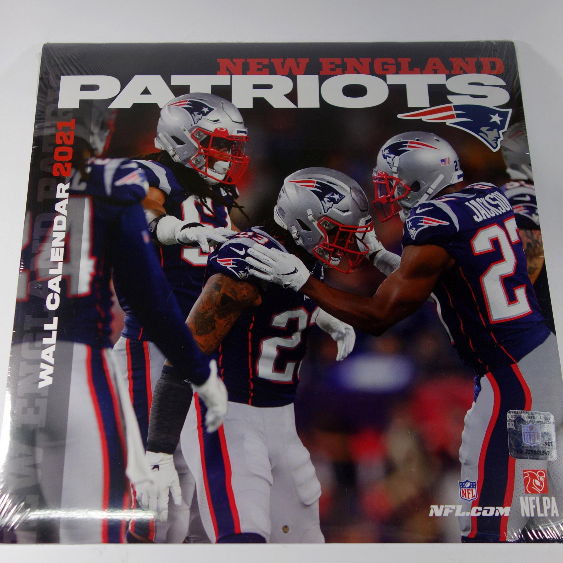 NFL Wandkalender New England Patriots 2021