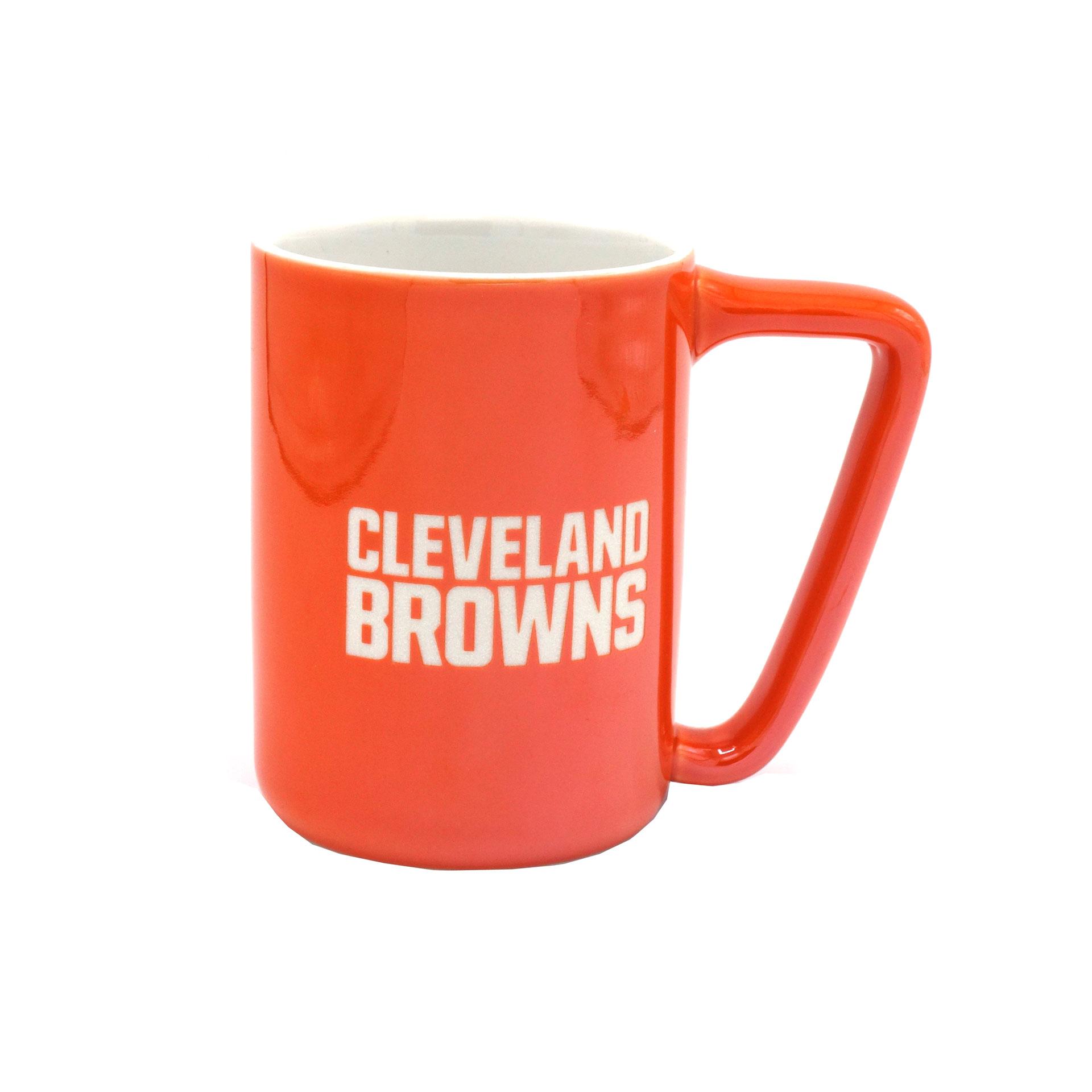 NFL Becher Cleveland Browns Metallic