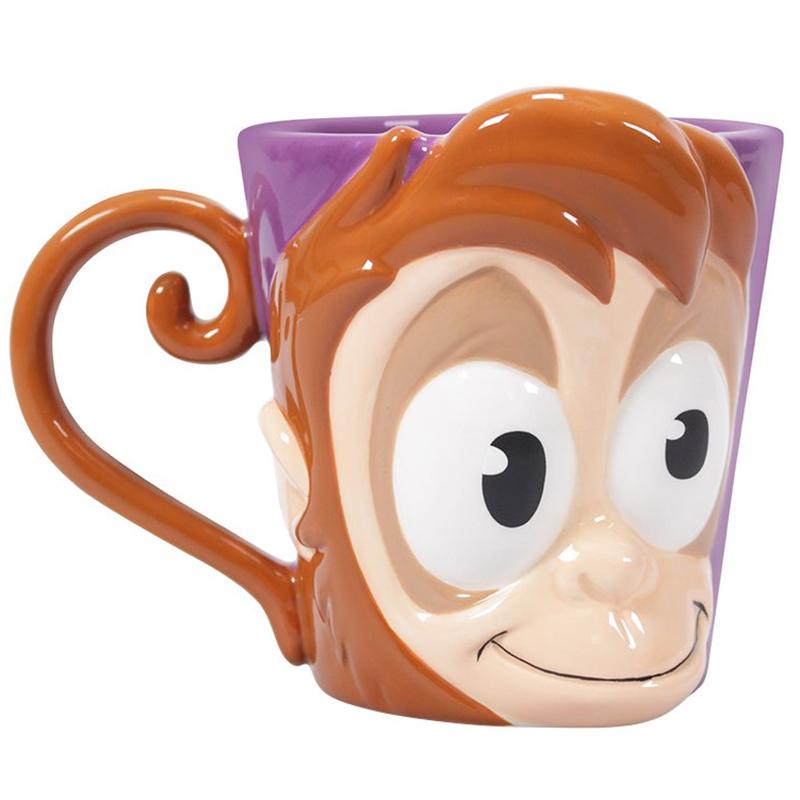"""Disney Aladdin 3D Tasse """"Abu"""" Shaped Ceramic Mug"""