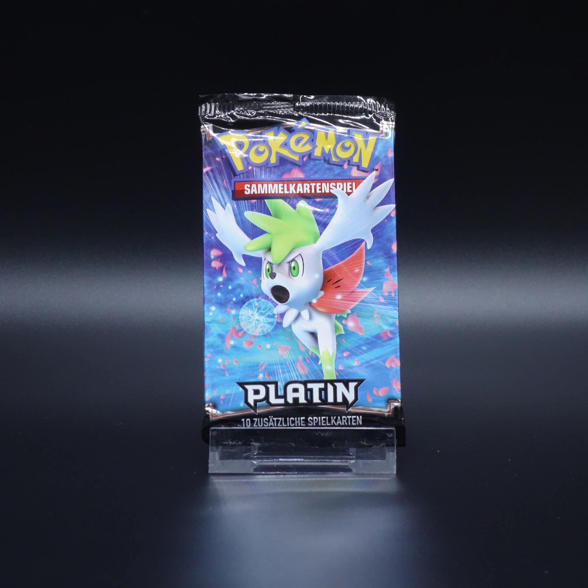 Pokemon Booster Platin Pack Sammelkartenspiel 1