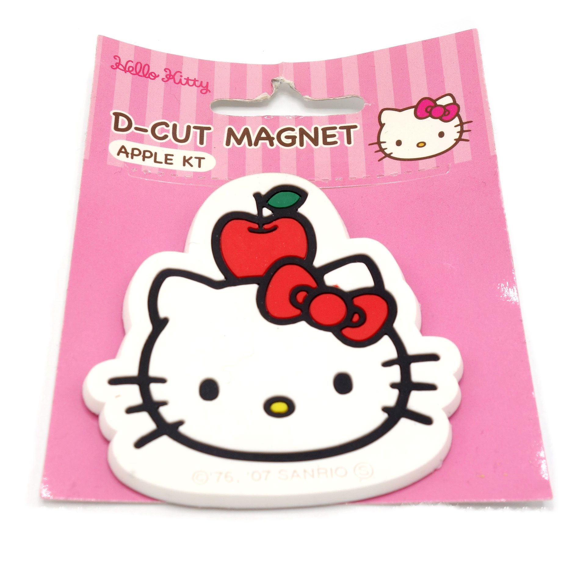 Hello Kitty D-Cut Magnet Apple KT