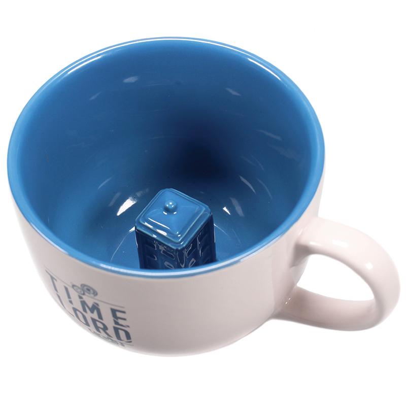 "Doctor Who Tasse ""Telefonzelle"" Hidden 3D Mug"