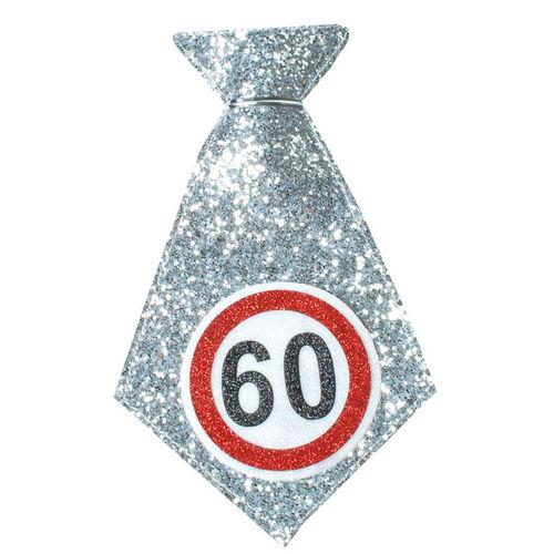 """Geburtstagsgeschenk Mini-Krawatte """"60"""" Spaßgeschenk"""