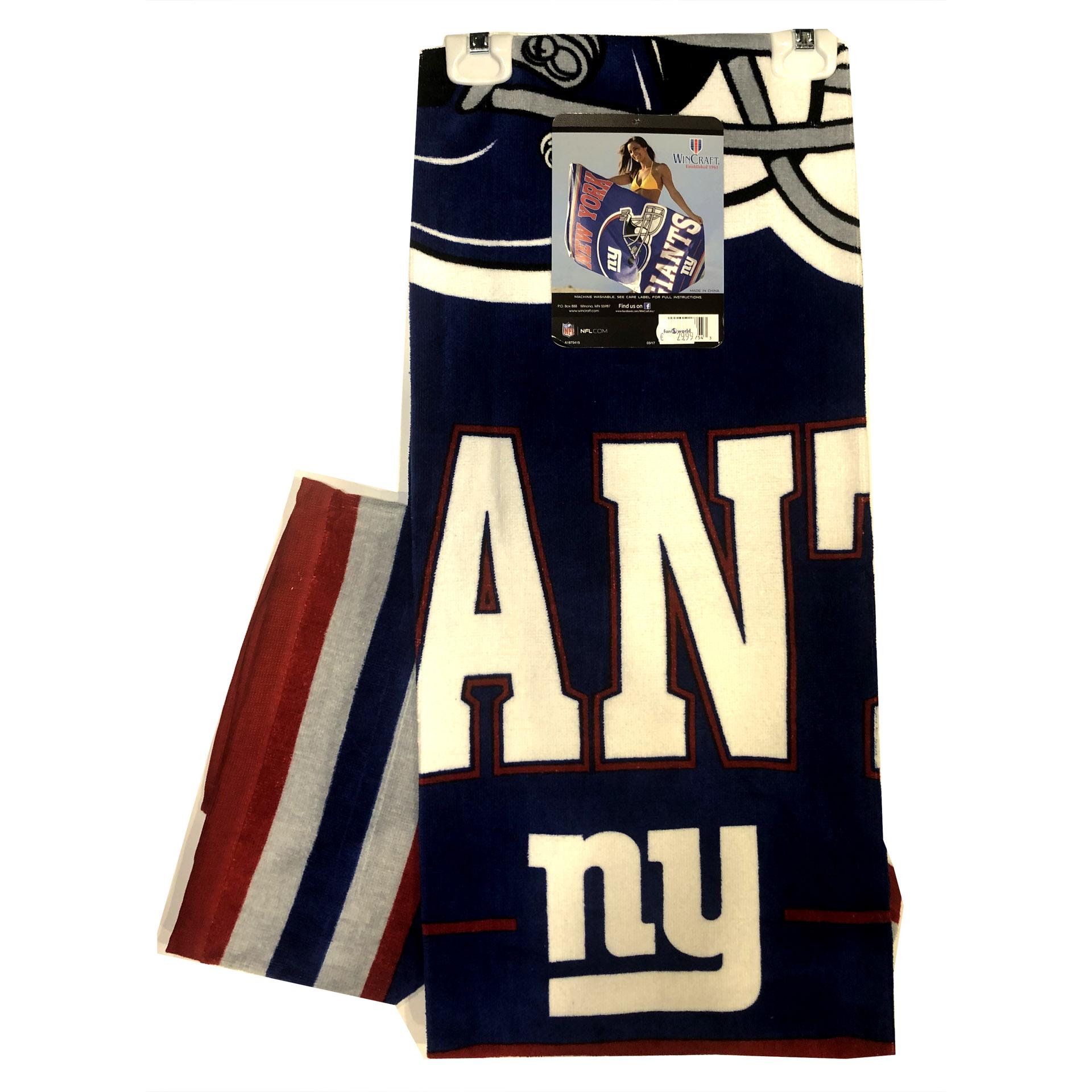 NFL Duschtuch New York Giants