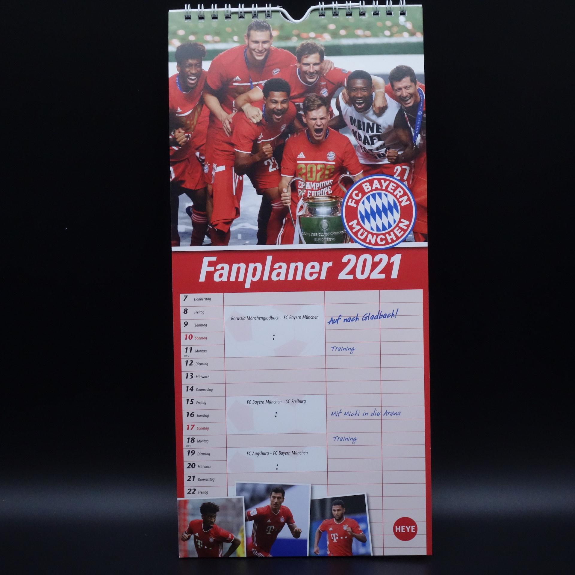 FC Bayern München Fanplaner 2021