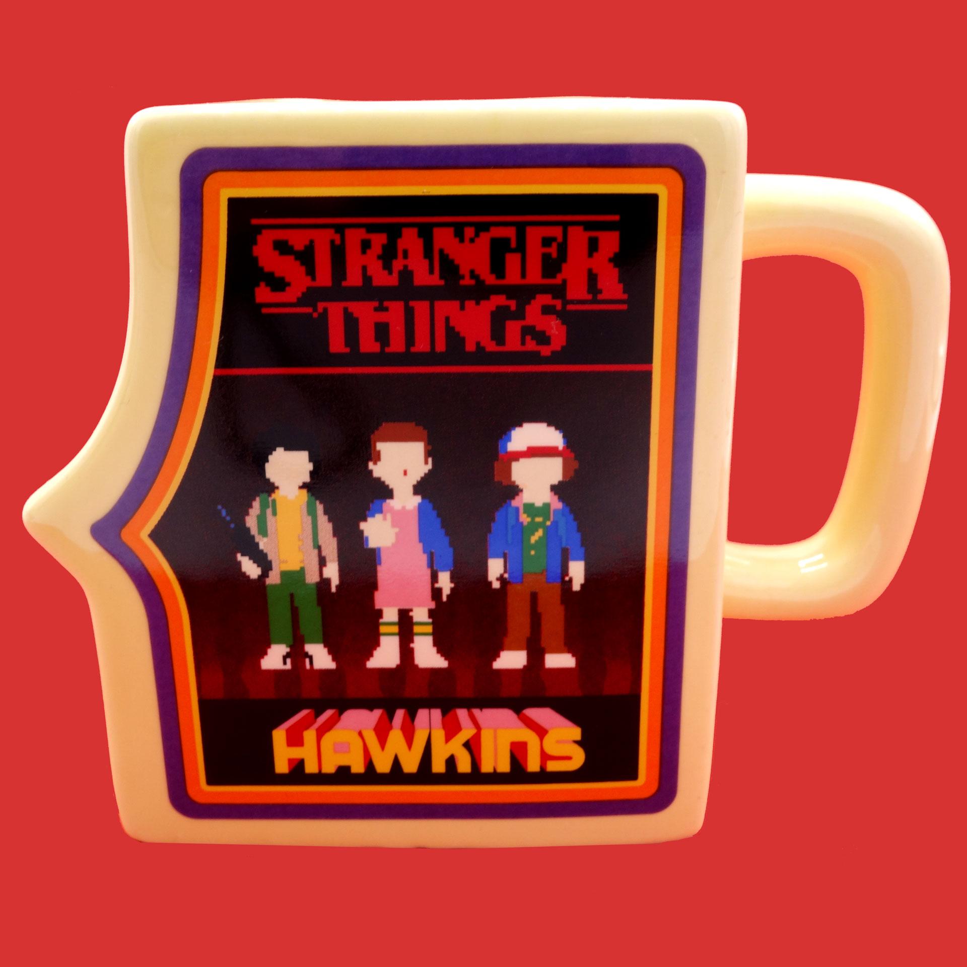 Stranger Things Tasse  Arcade Machine