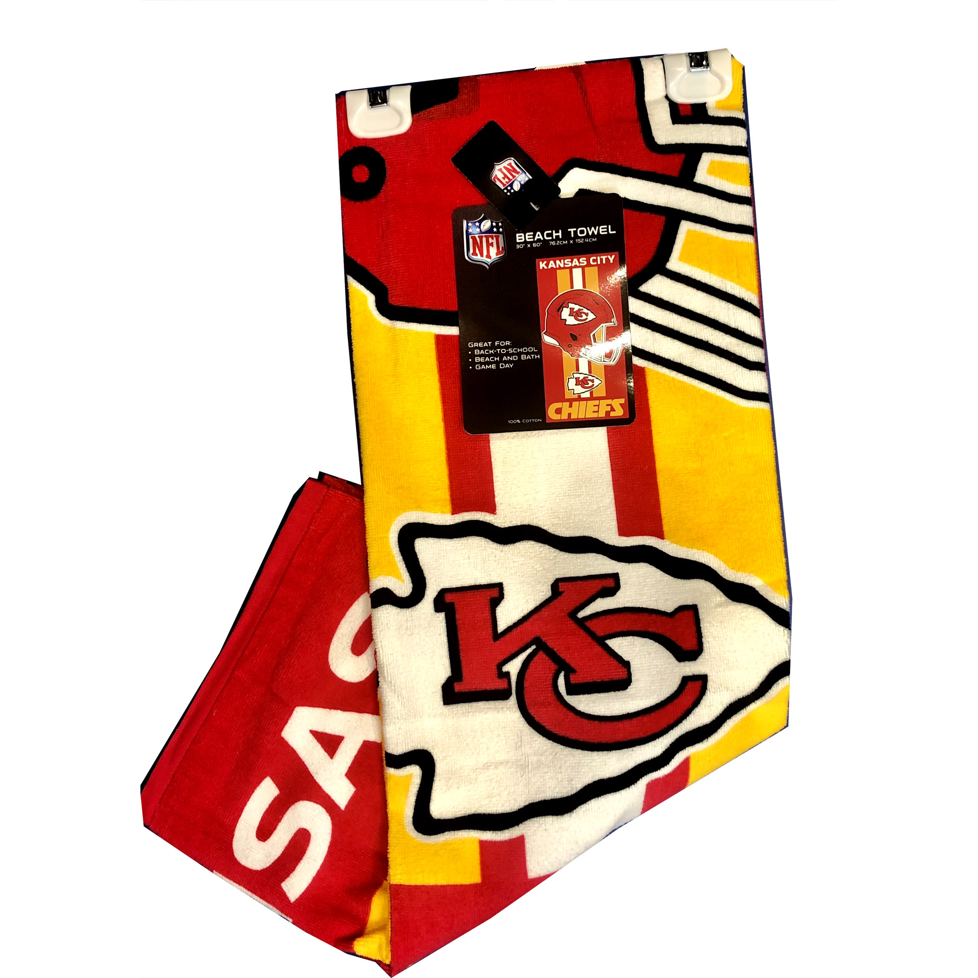 NFL Duschtuch Kansas City Chiefs