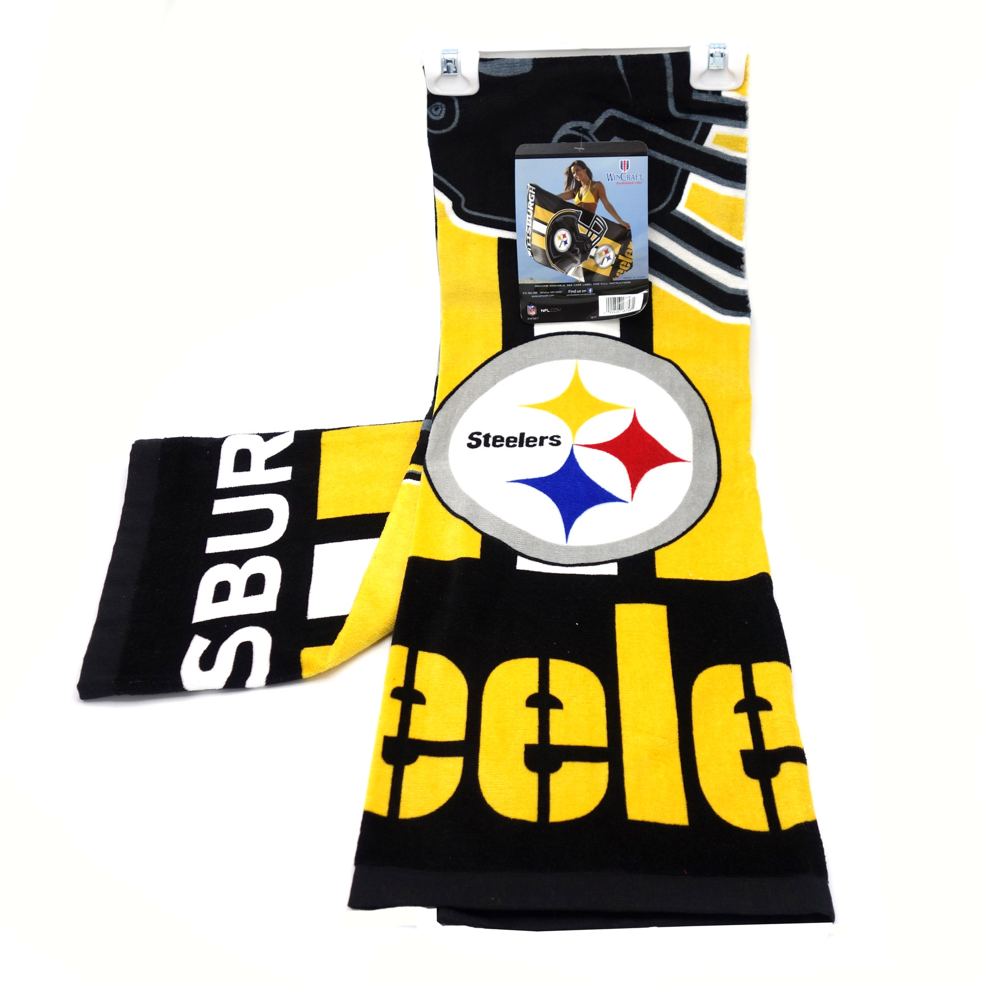 NFL Duschtuch Pittsburgh Steelers