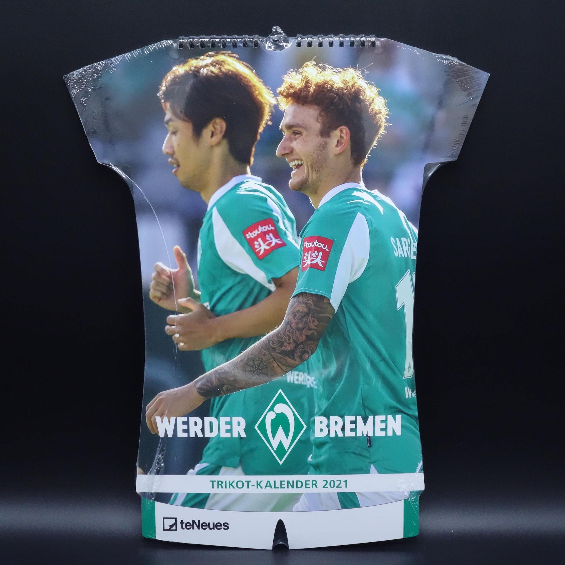 Werder Bremen  Trikot-Kalender 2021
