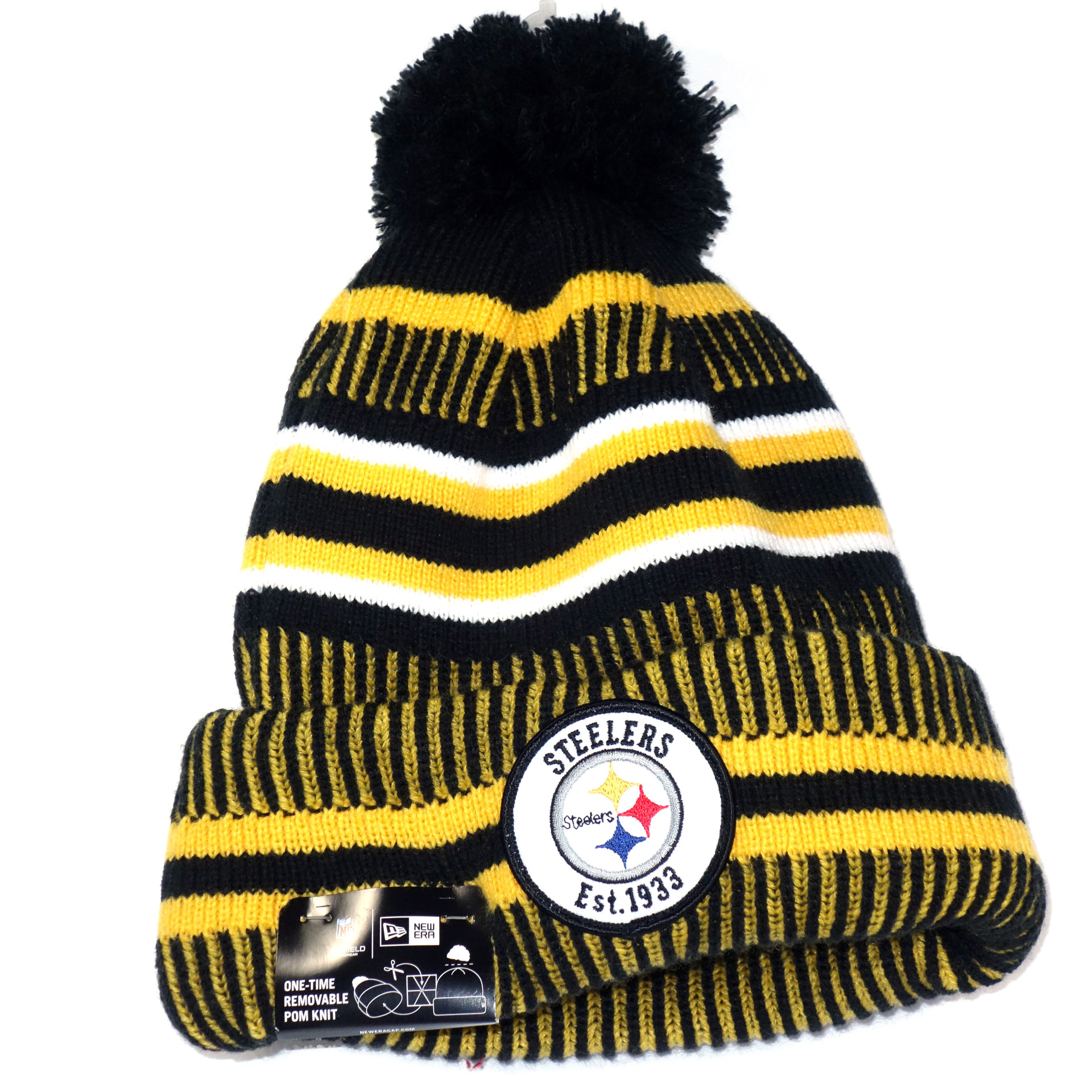 NFL Beanie Strickmütze Pittsburgh Steelers