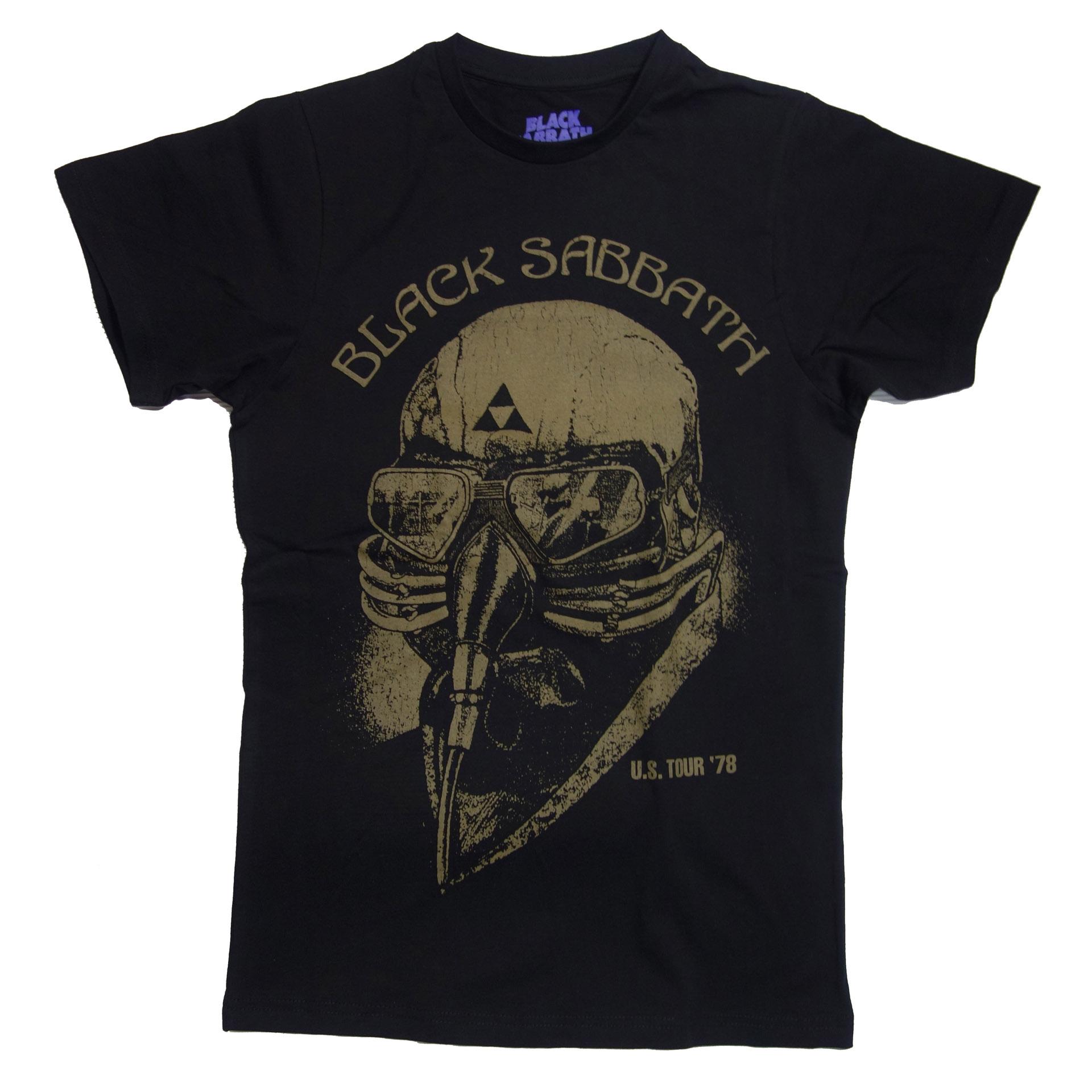 T-Shirt Black Sabbath US Tour 1978 Avengers