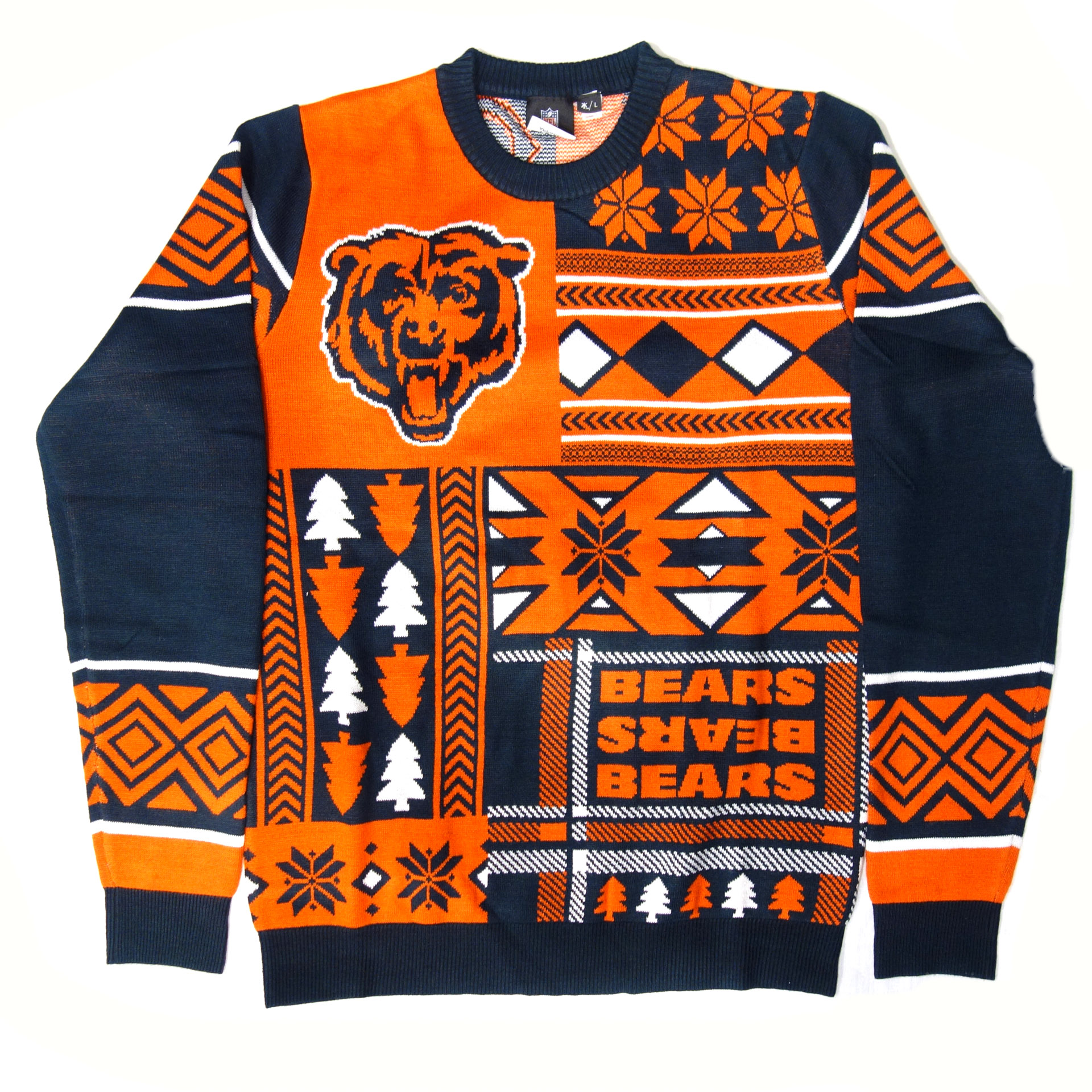 NFL Pullover Chicago Bears Ugly Sweater Weihnachtsmotive