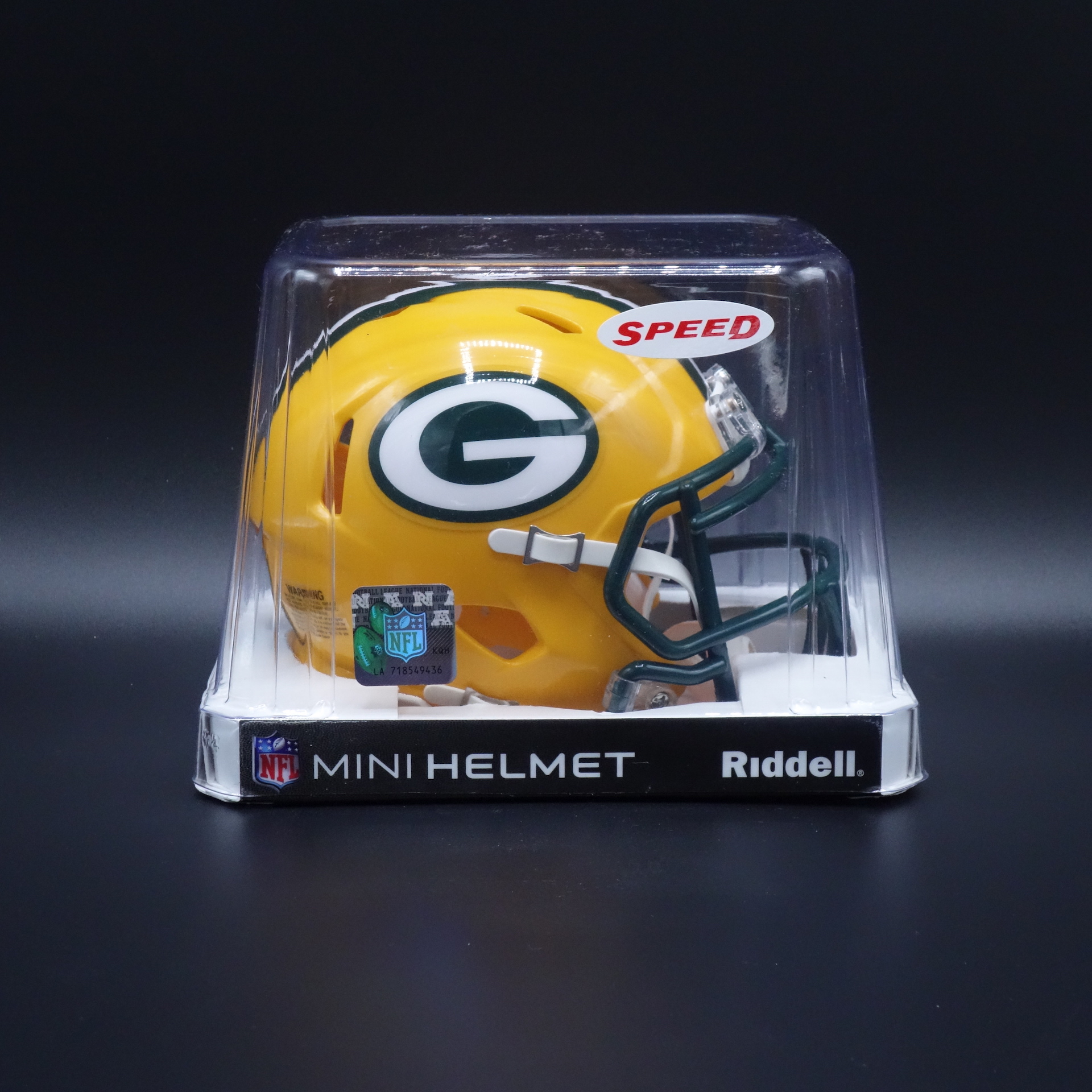 NFL Green Bay Packers Riddell Helm Speed