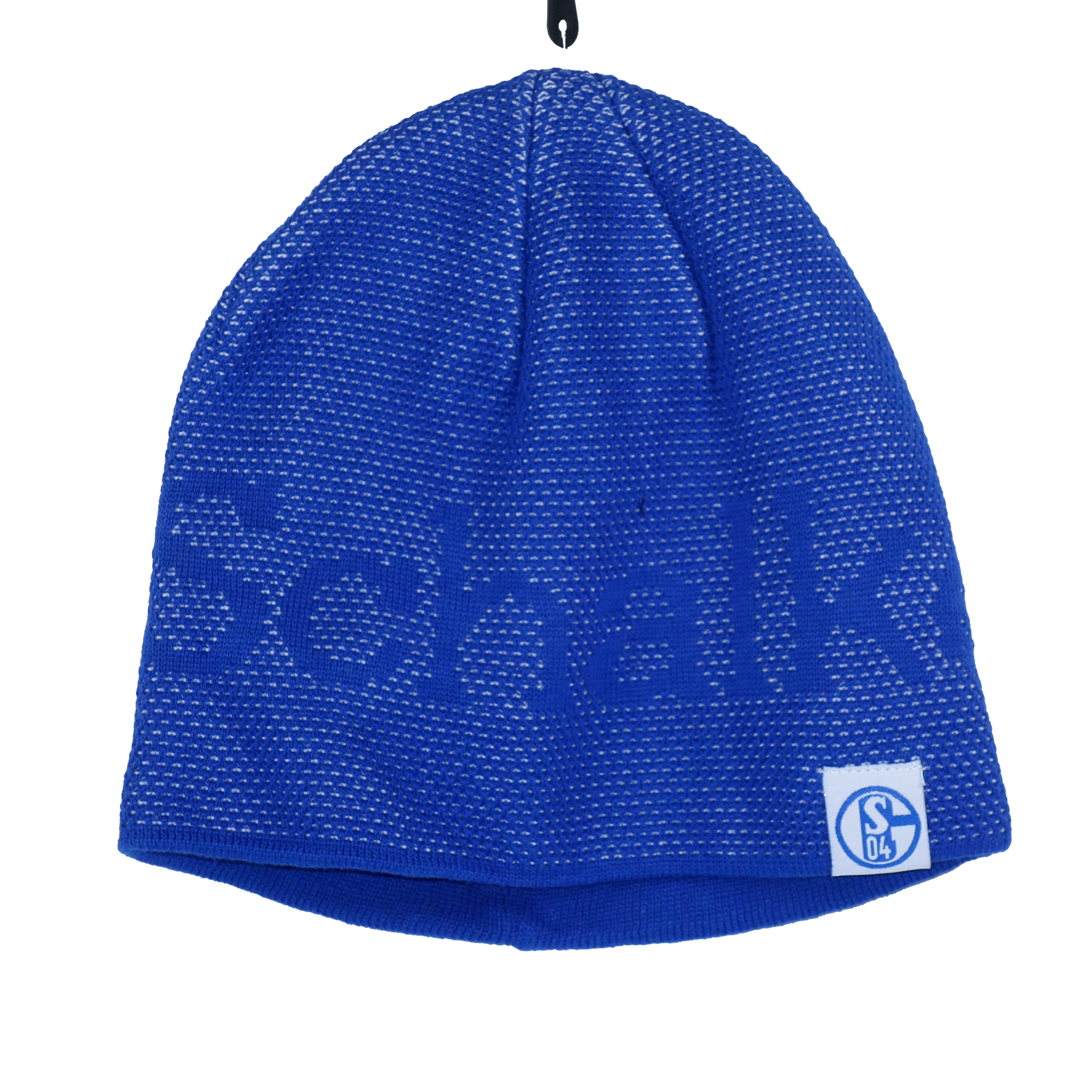 Schalke 04 Wintermütze Königsblau