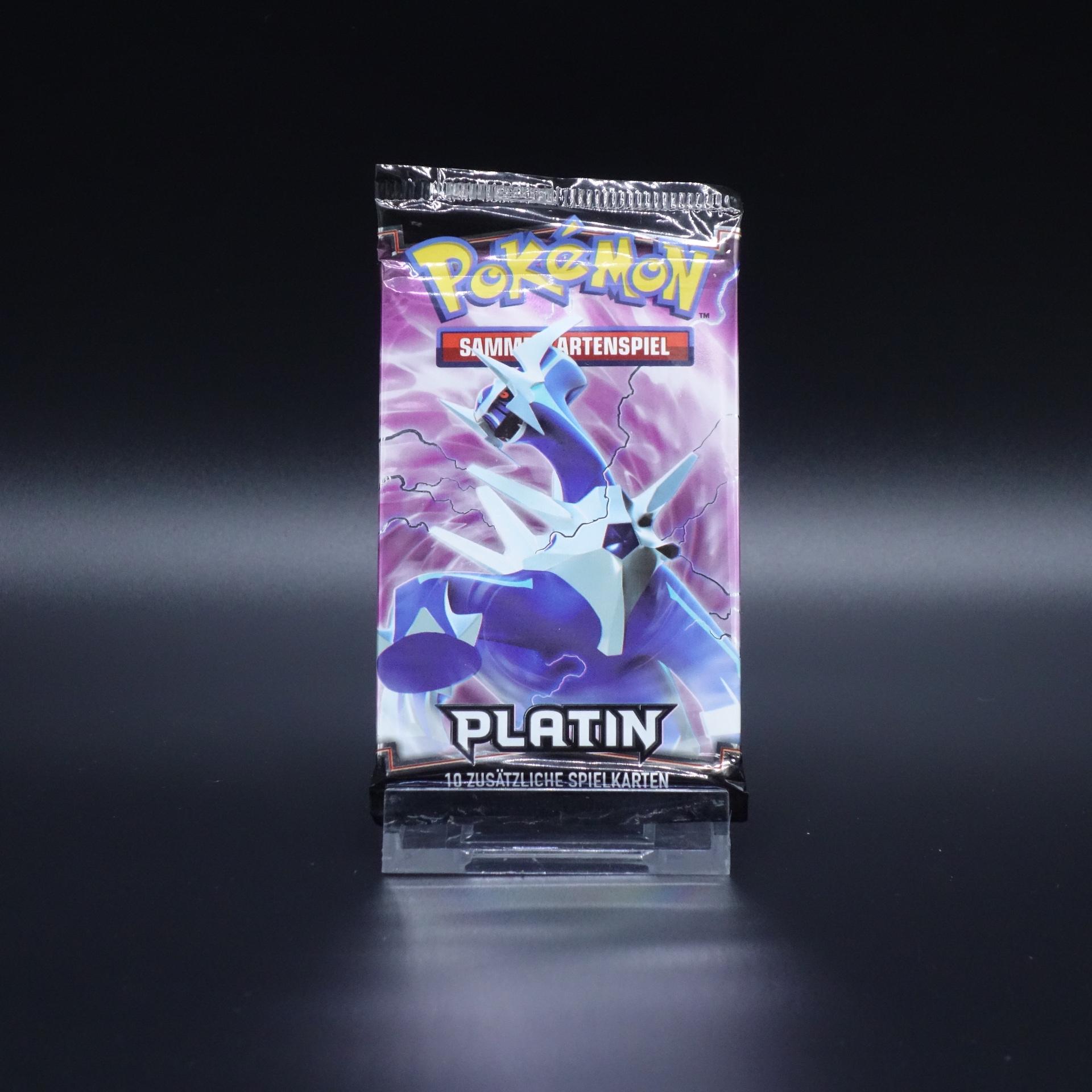 Pokemon Booster Platin Pack Sammelkartenspiel 2