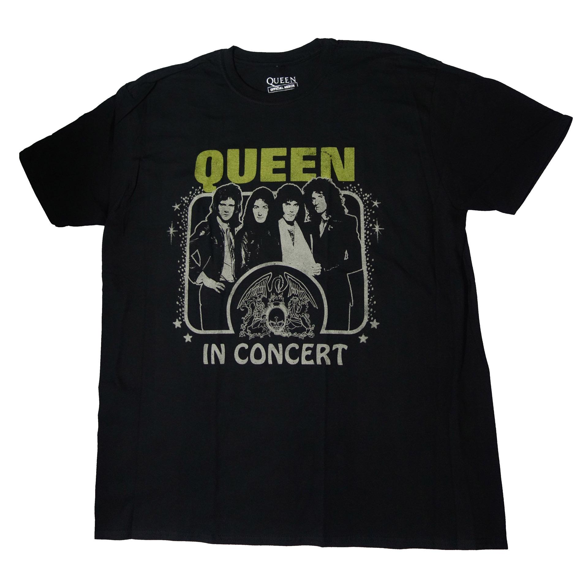 T-Shirt Queen In Concert