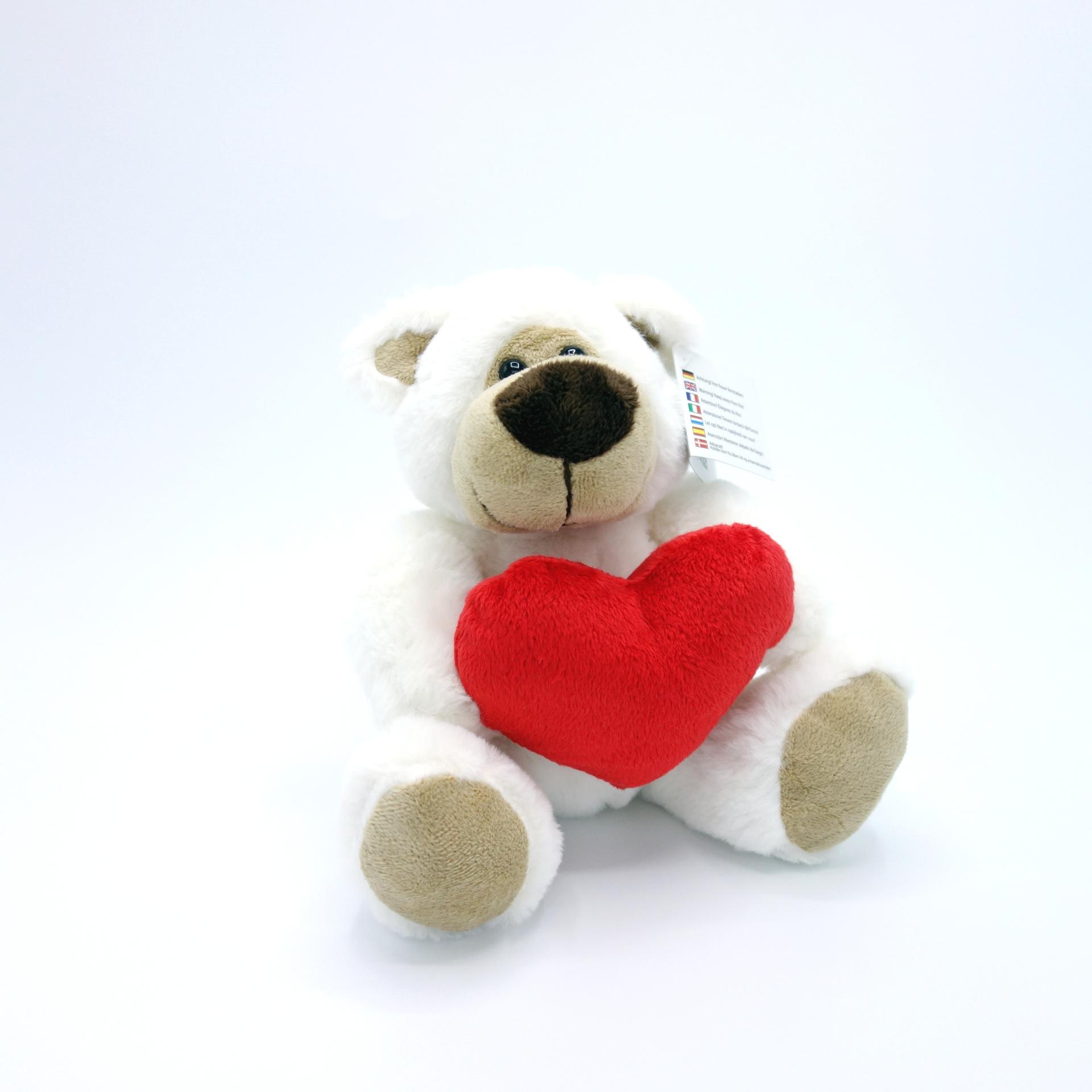 Plüsch Bär Teddy mit Herz
