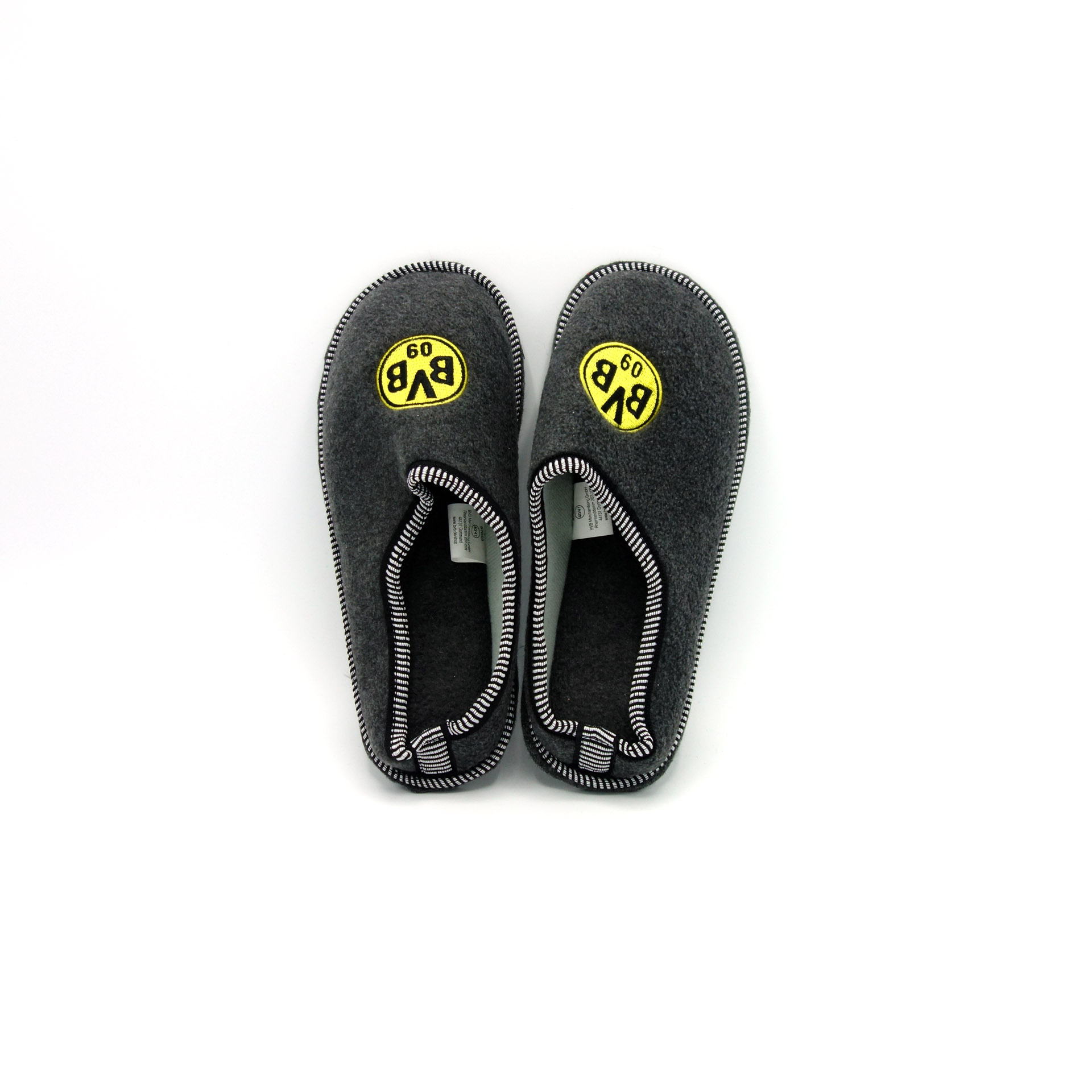 BVB Filz-Pantoffeln