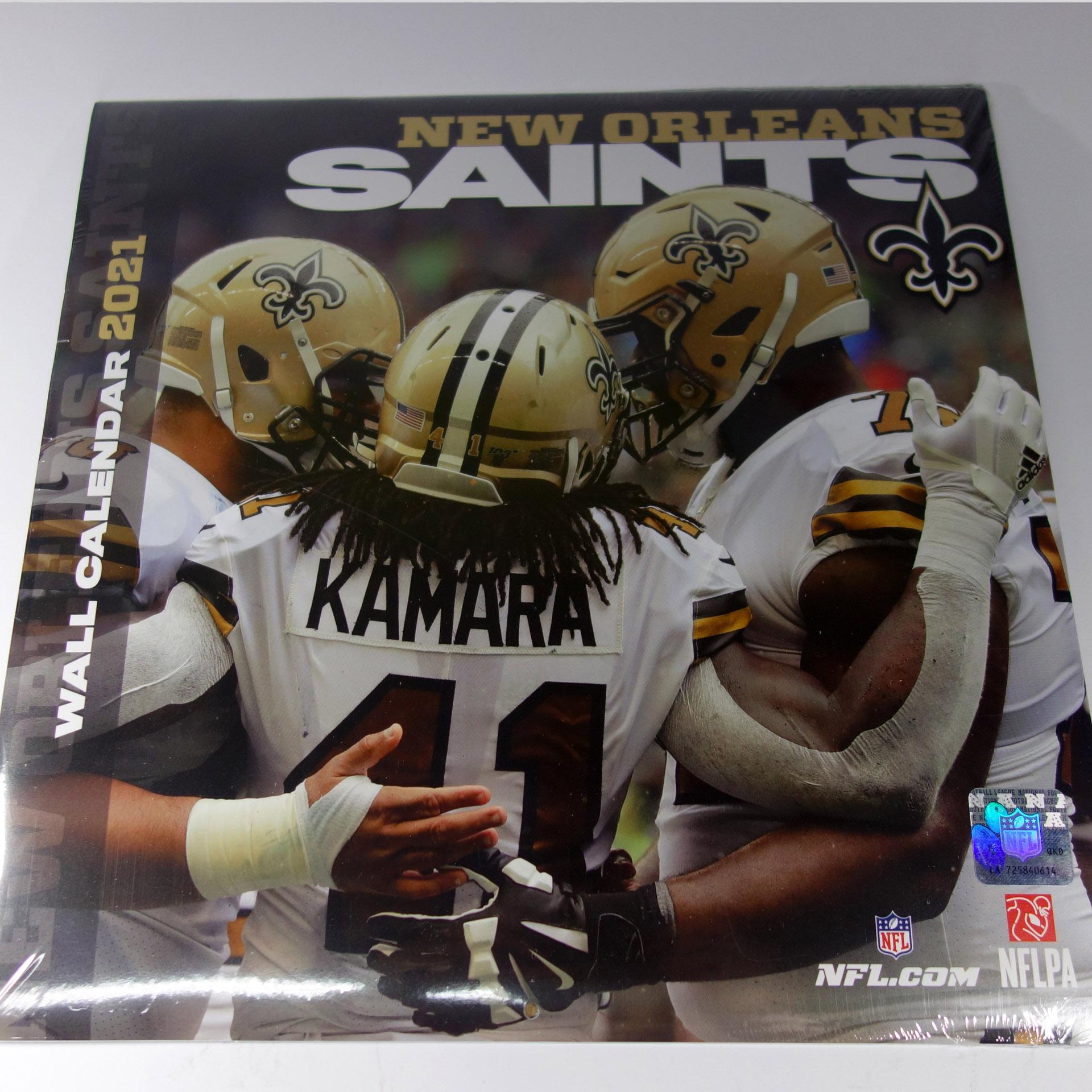 NFL Wandkalender New Orleans Saints 2021