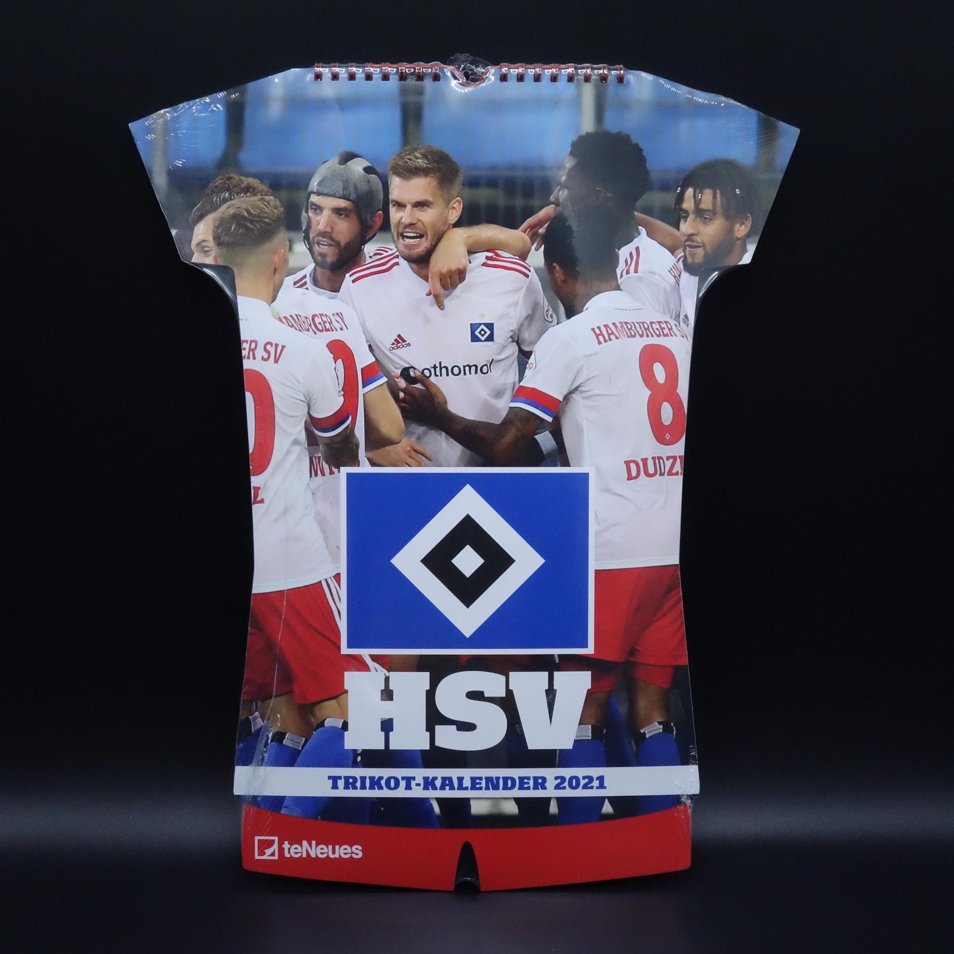 HSV Trikot-Kalender 2021